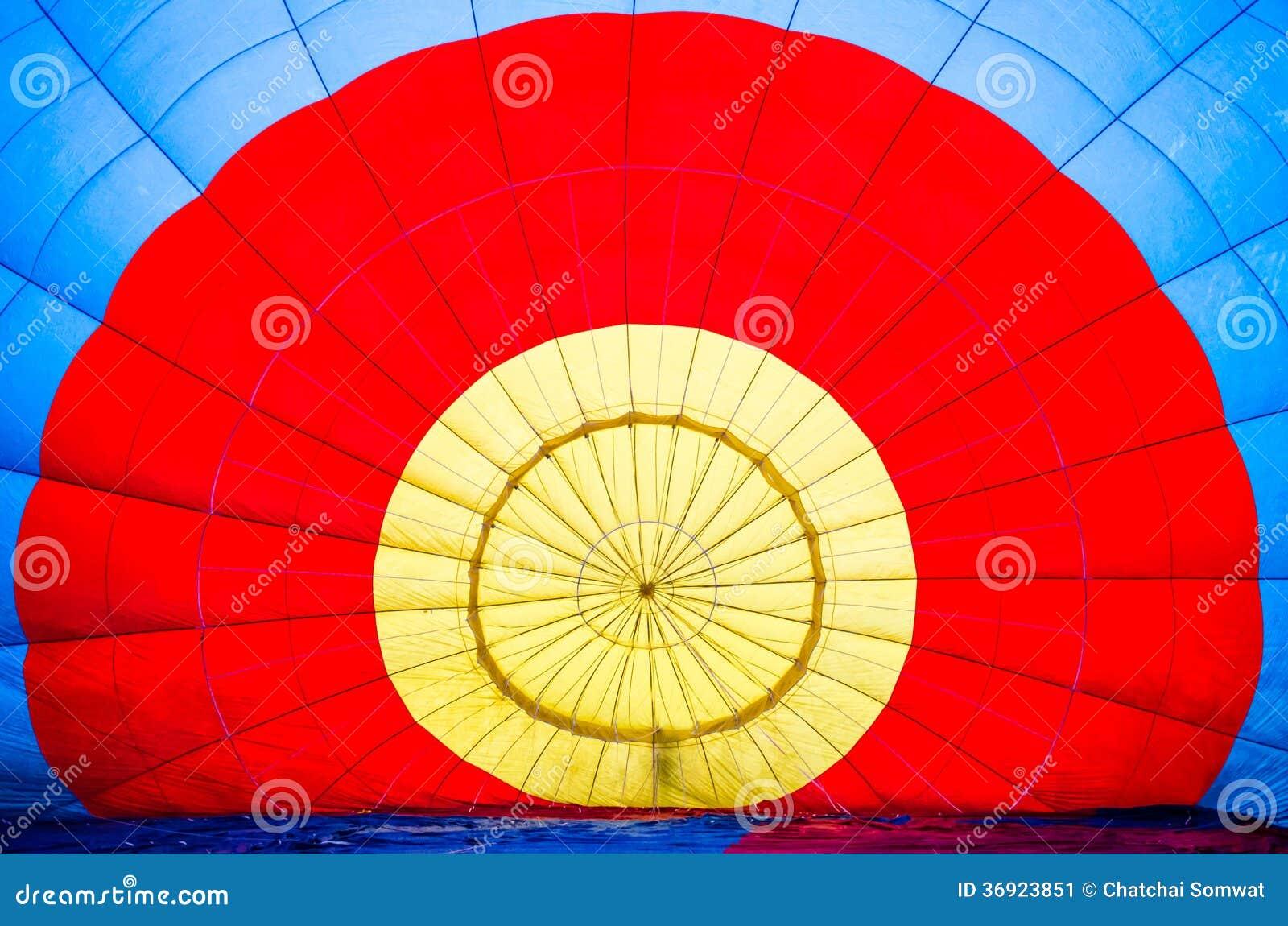 Tło gorące powietrze balon