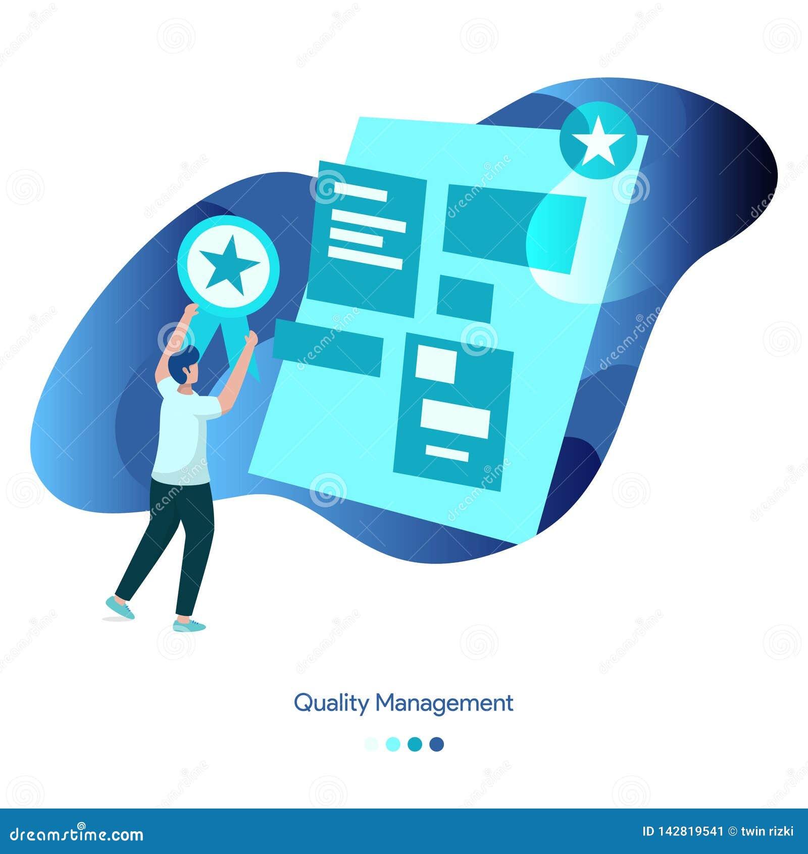 Tło ilości Ilustracyjny zarządzanie