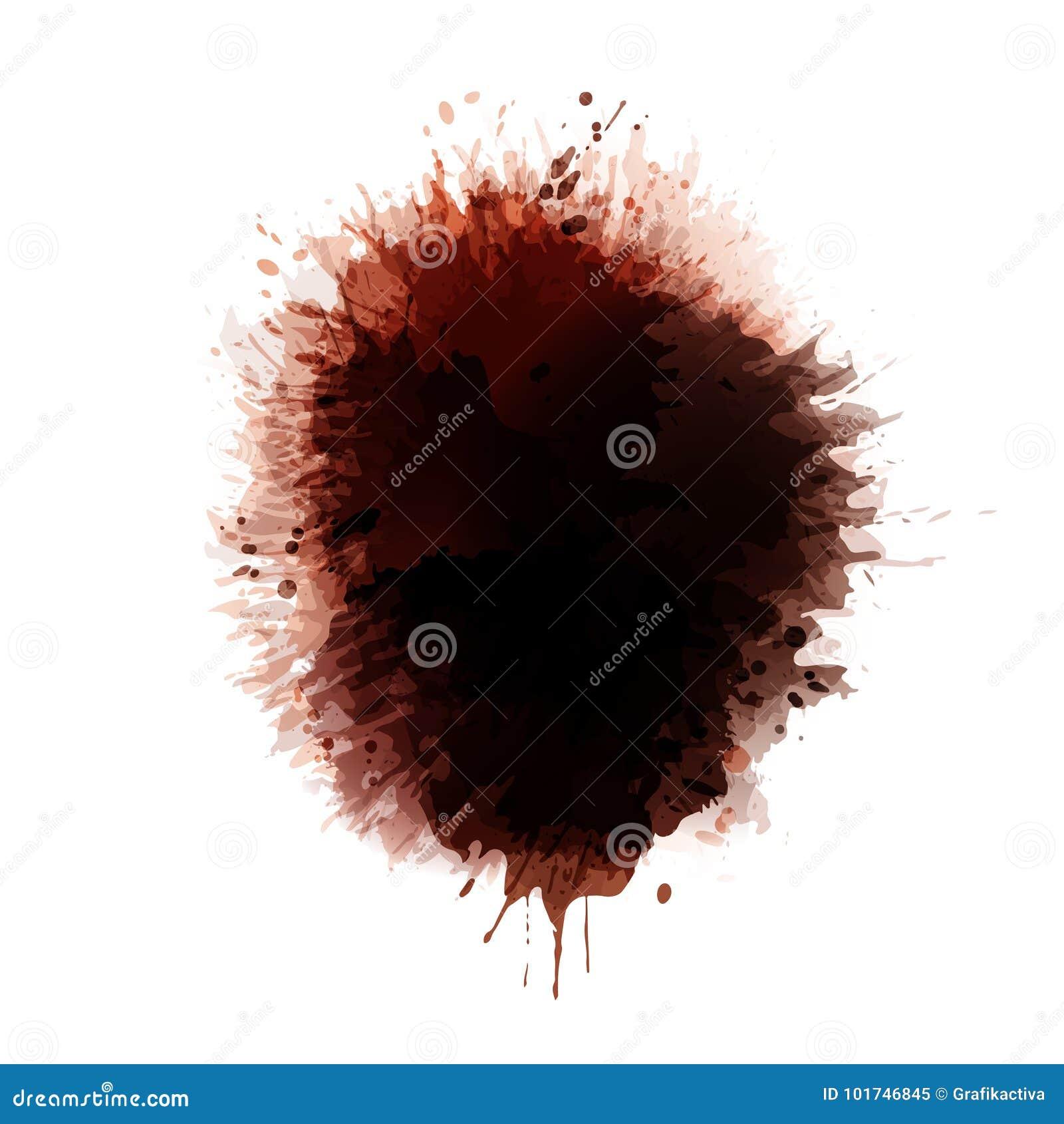 Tło koloru brown punkty plamy kawy