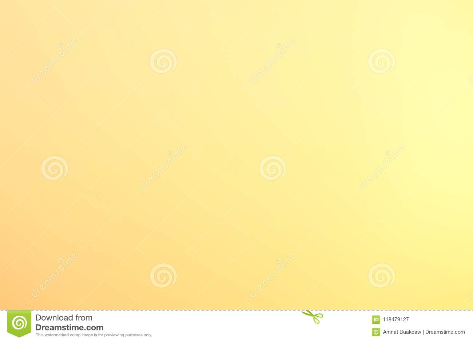 Tło miękki jasnożółty złocisty rozmyty pastelowy kolor, Żółtego złota abstrakcjonistycznej sztuki gradientowa graficzna jaskrawa
