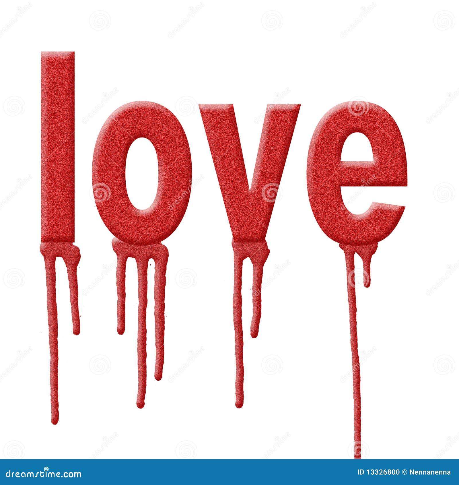 Tło miłość