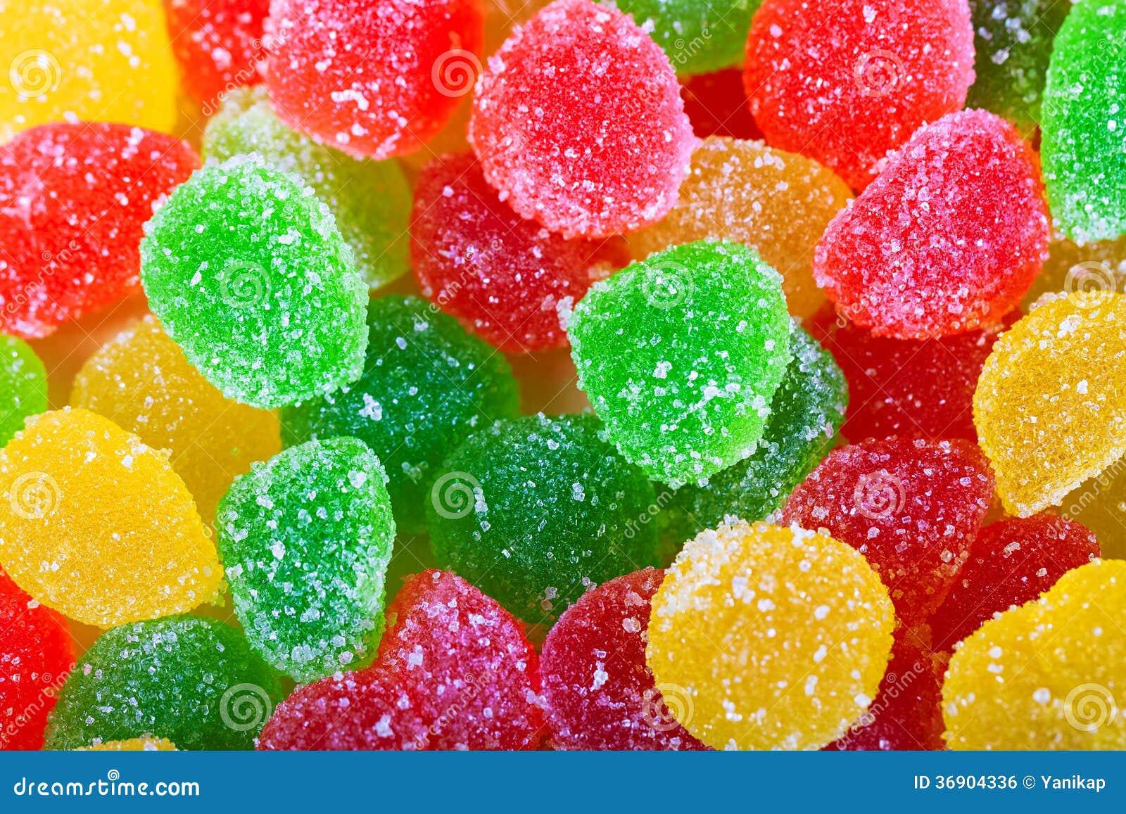 Tło od kolorowych cukierków cukrowi cukierki