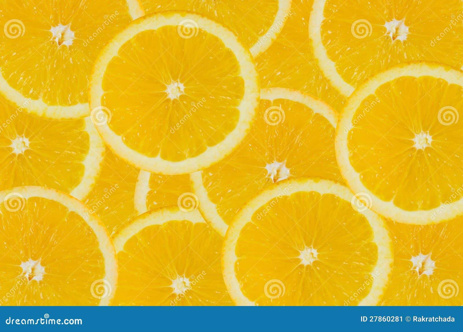 Tło pomarańcze