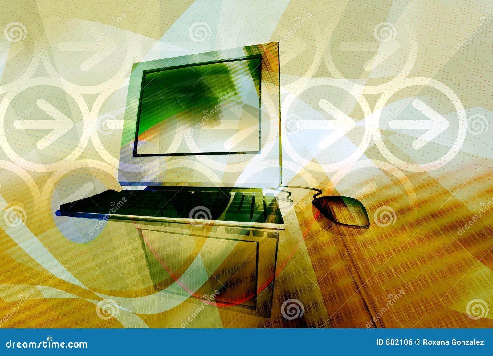 Tło technologii komputerowej
