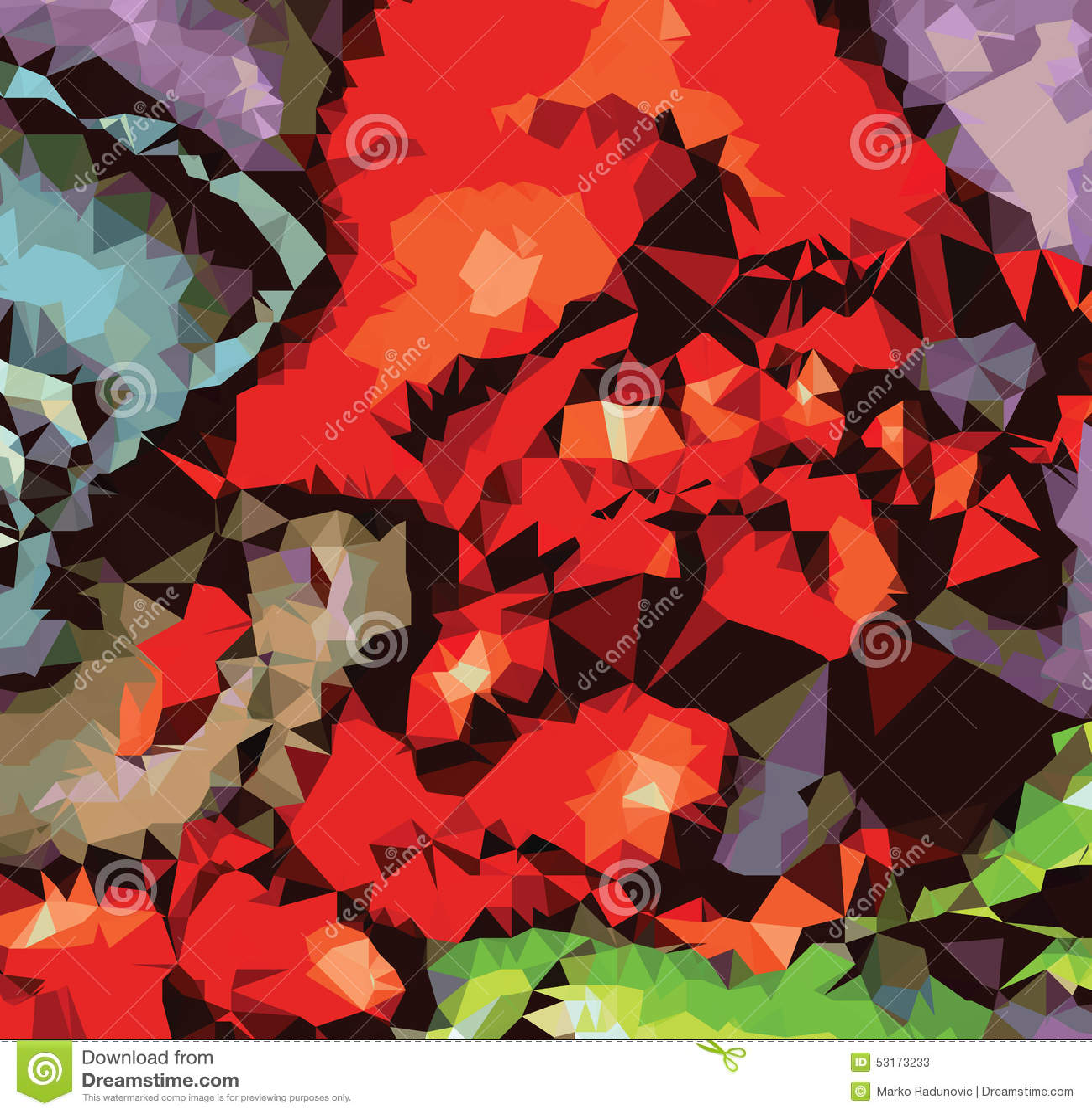 Tło trójboka geometrii abstrakcjonistycznego wzoru sztuki luksusowy obraz