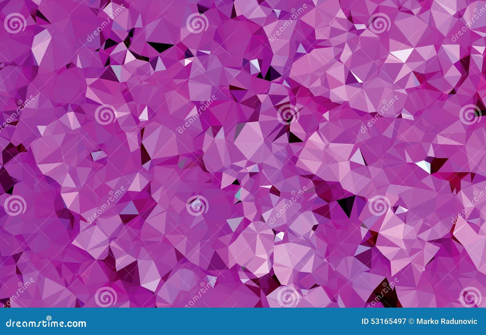 Tło trójboka geometrii abstrakcjonistyczny purpurowy wzór