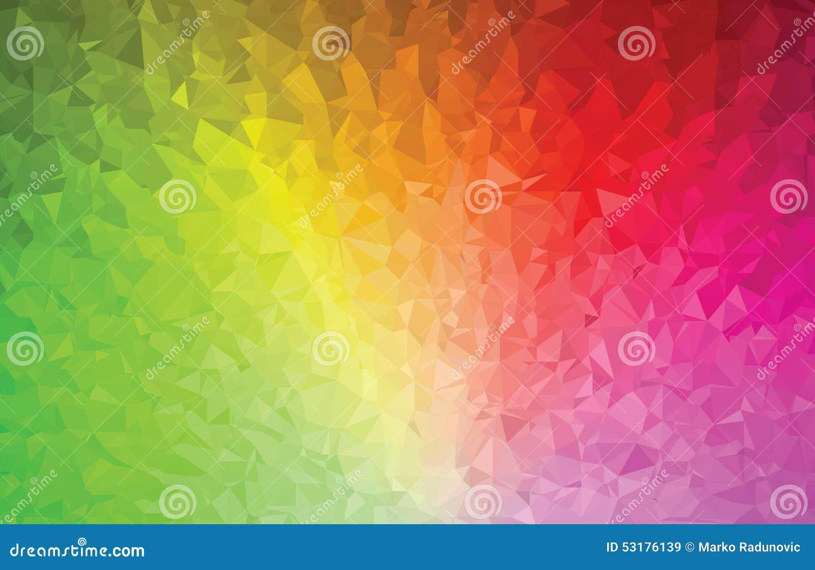 Tło trójboka geometrii wzoru koloru abstrakcjonistyczny widmo