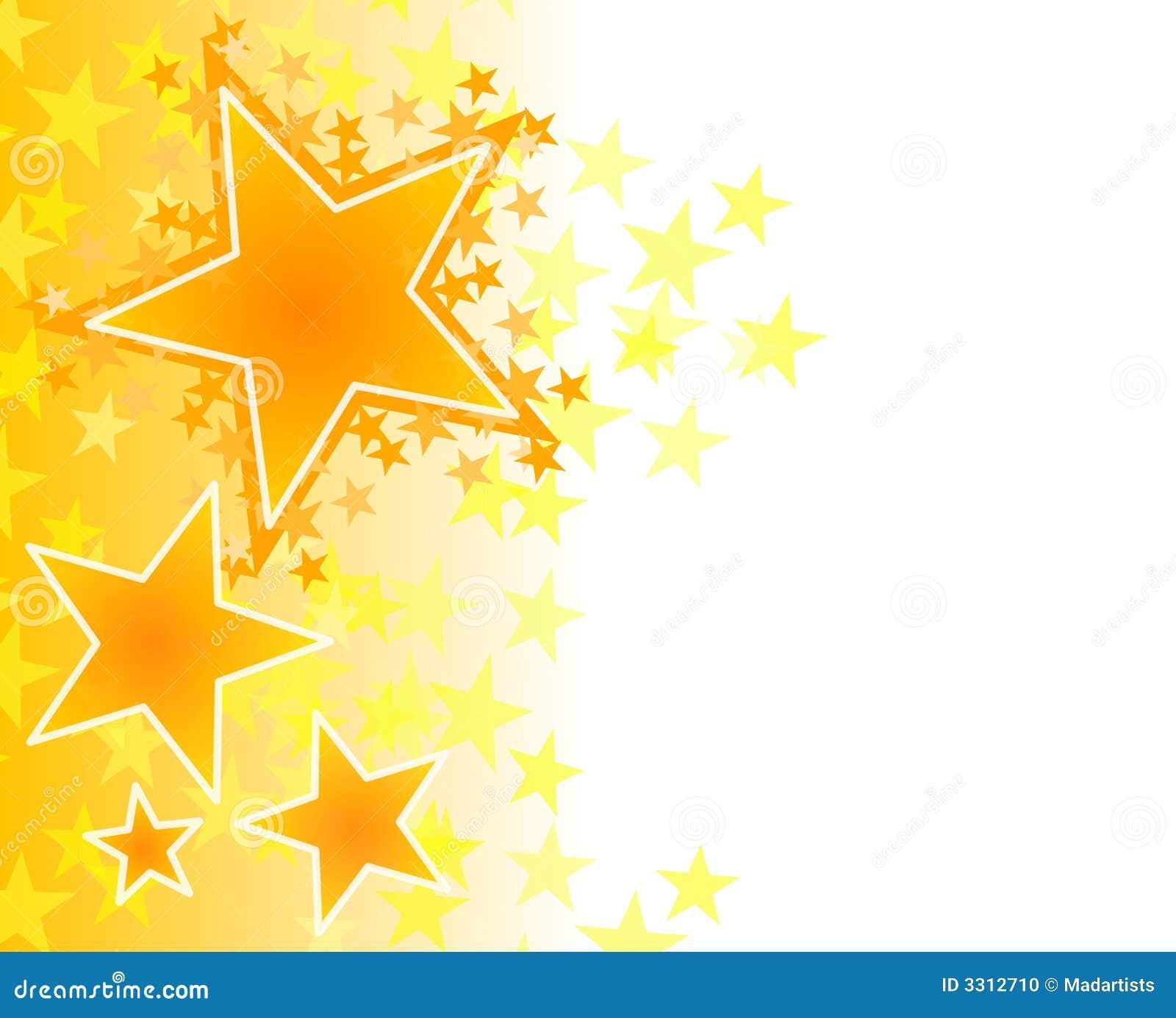 Tło złota fadingu gwiazdy