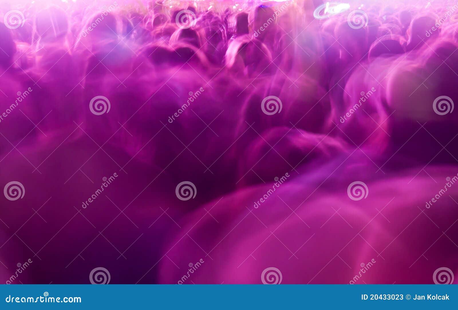 Tłum w plamie