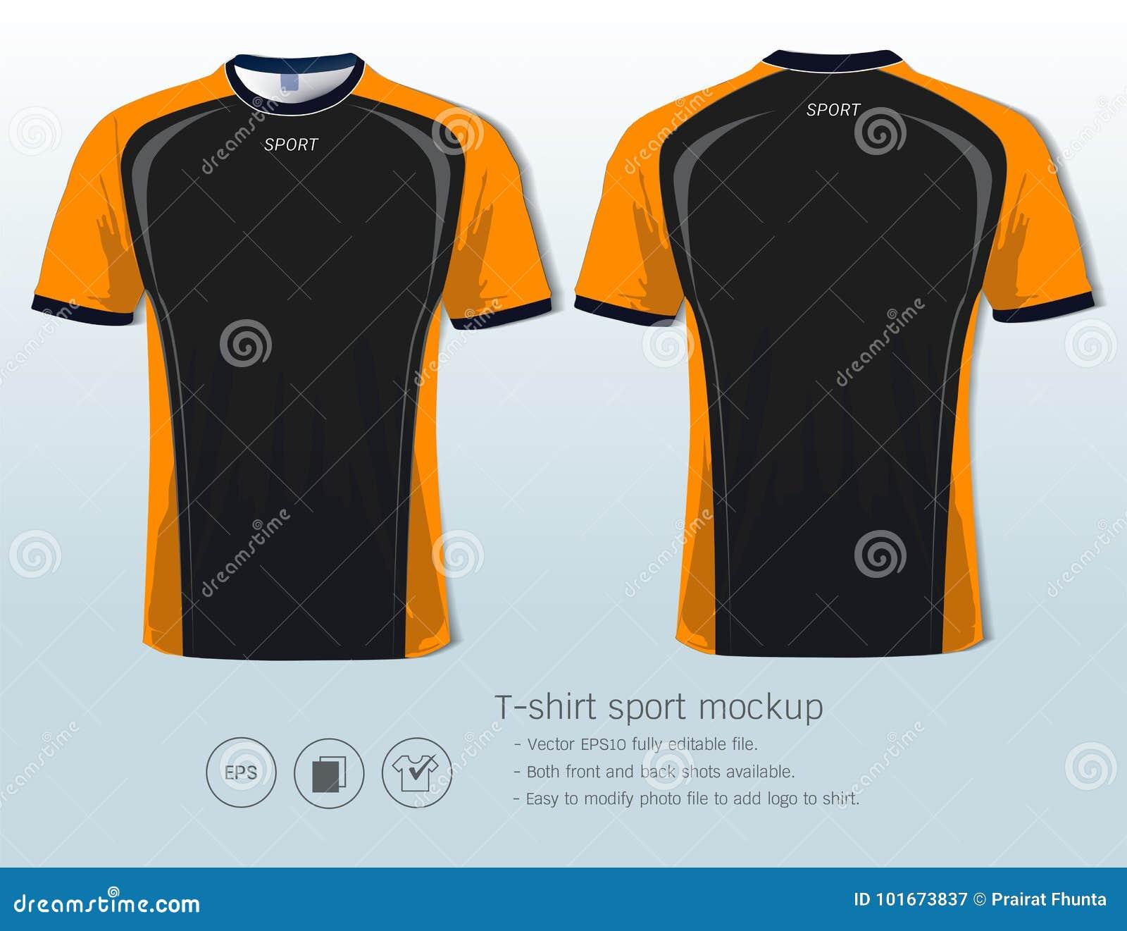 T恤杉体育橄榄球俱乐部或所有运动服的设计模板