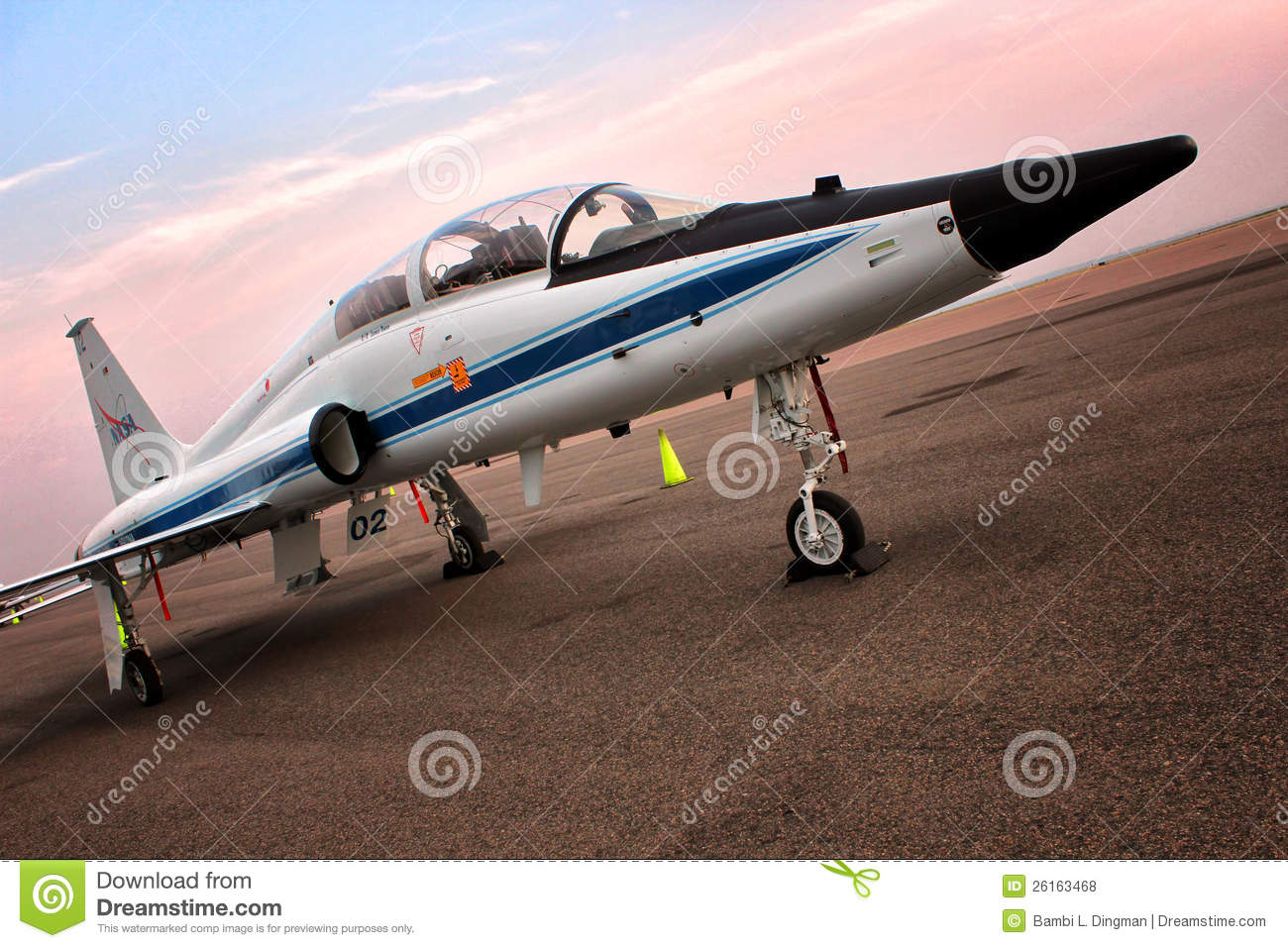 T-38 Talon NASA - Astronaut Jet Trainer Editorial Image ...