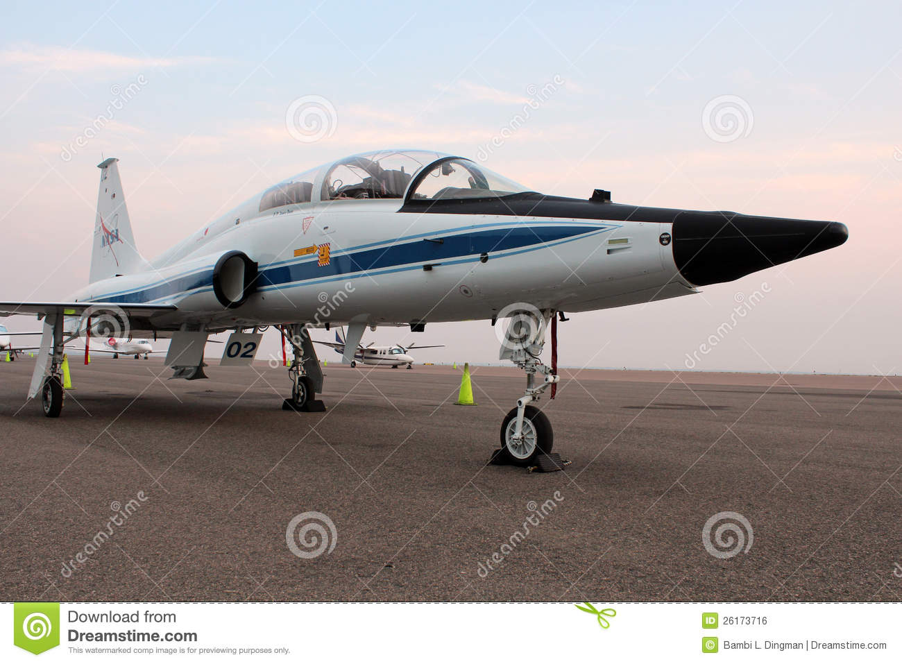T-38 Talon NASA - Astronaut Jet Trainer Editorial Photo ...