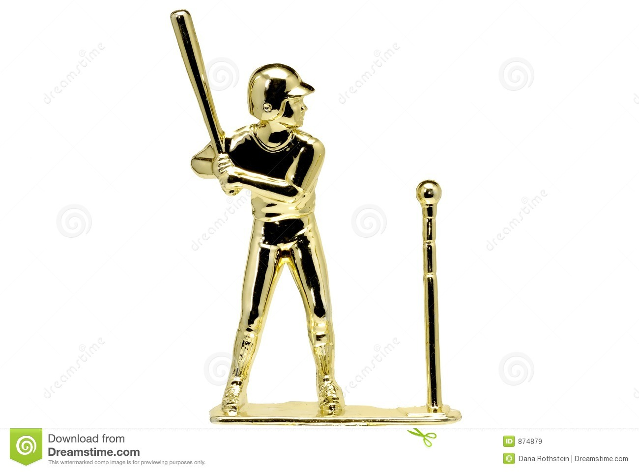 T-Ball Trophy Royalty Free Stock Images - Image: 874879