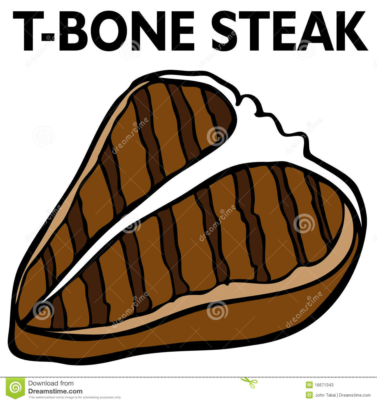 Bone Steak Stock Photos - Image: 16671343