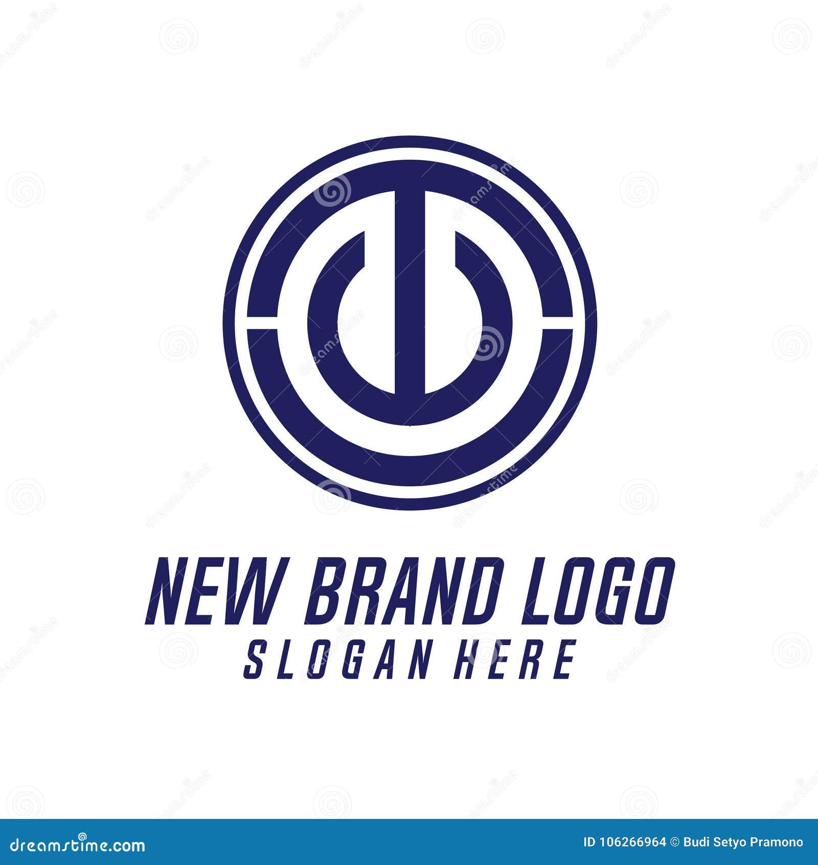 T & elemento do vetor do projeto do logotipo da letra de C, T & U Logo Vetora, T, C, & U Logo Icon, logotipo do ícone da seguranç