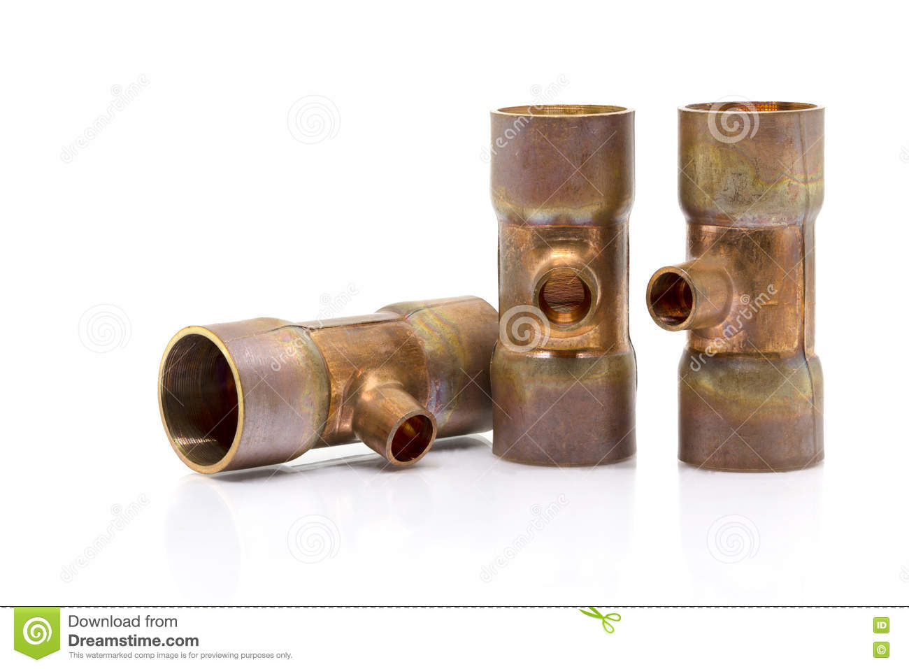 T-joint Connection Pipe Of Air-conditioner Or Refrigerant