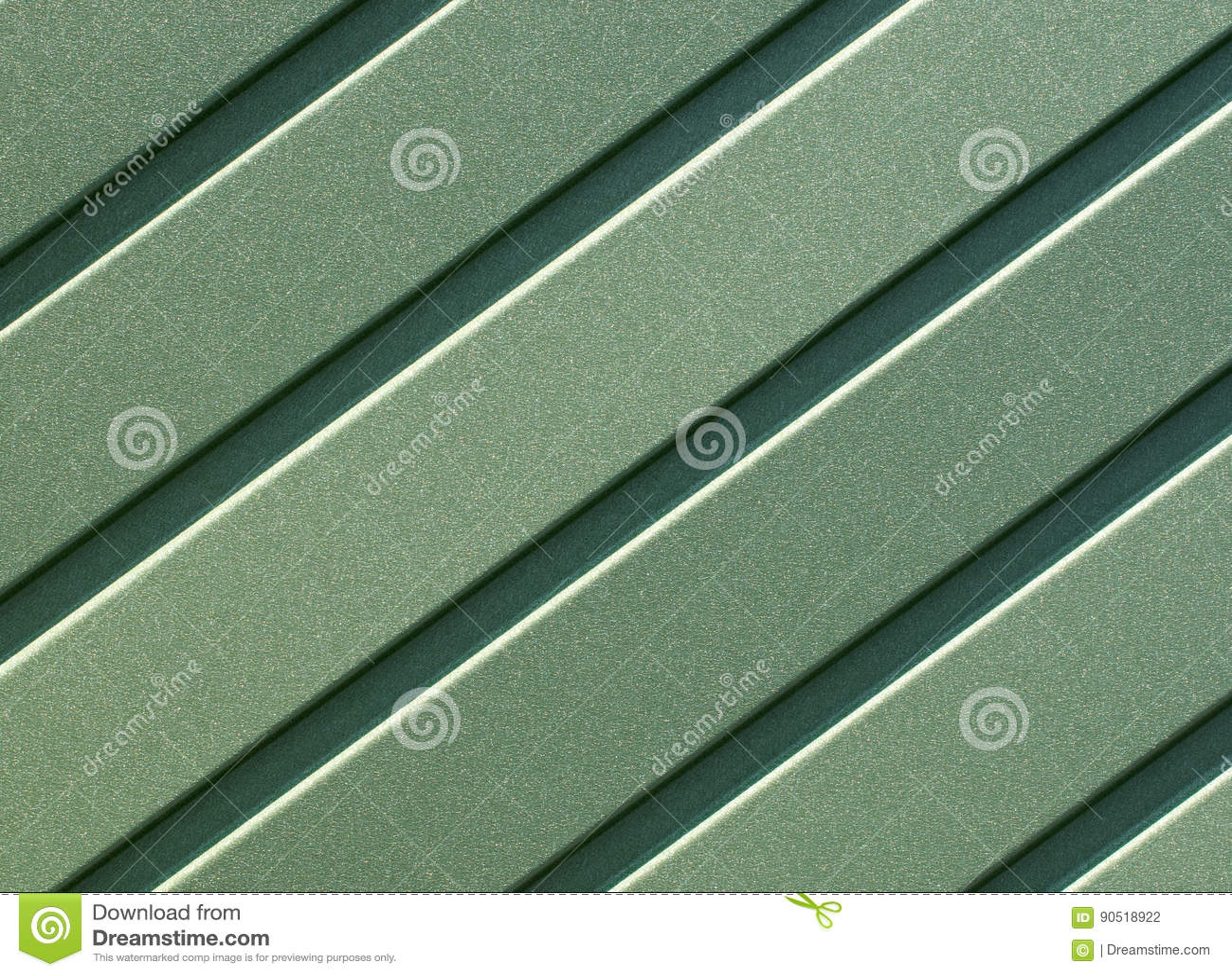 t le d 39 acier ondul e verte avec les guides verticaux photo stock image du plaque outdoors. Black Bedroom Furniture Sets. Home Design Ideas