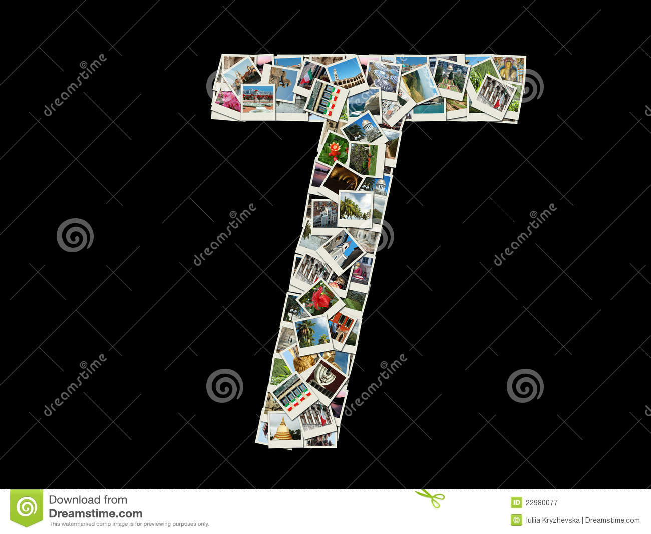 Royalty Free Collage Of Letter