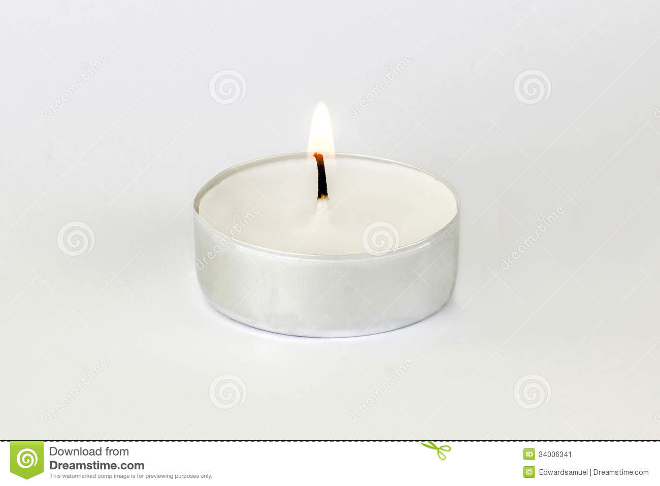 t light candle stock image image 34006341