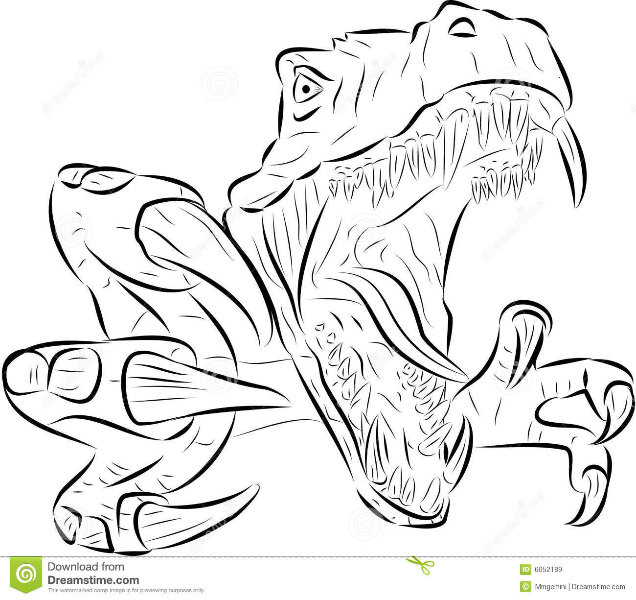 Free Dragon Coloring Pages further Jurassic Park Coloring Pages further Costumes additionally Printable Dinosaurs Coloring Pages Names moreover Royalty Free Stock Images T Rex Vector Image6052189. on scary dinosaur coloring