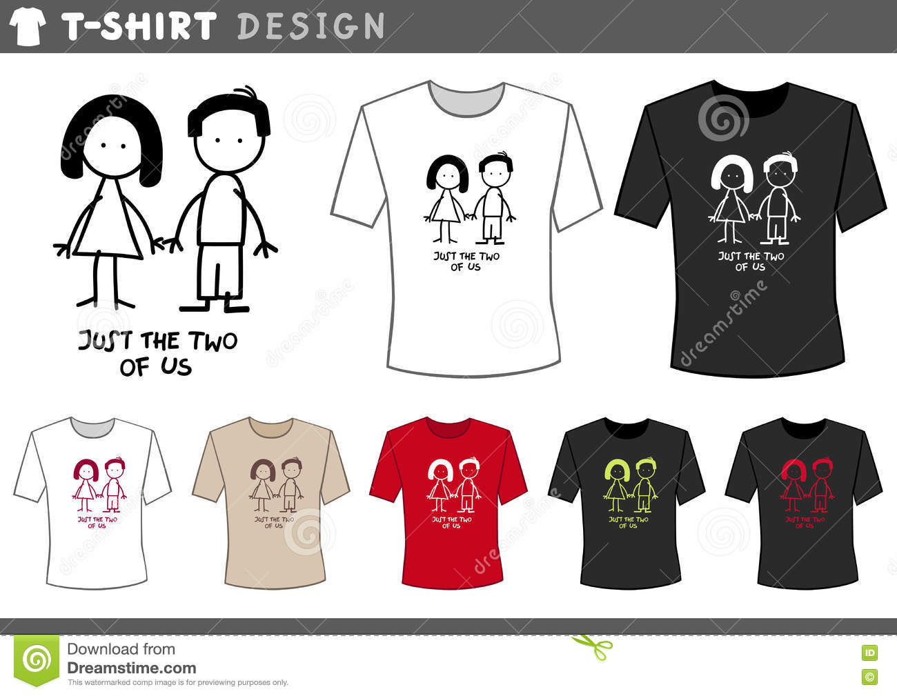 Cartoon Character T Shirt Design : Buy couple shirt design layout off share discount