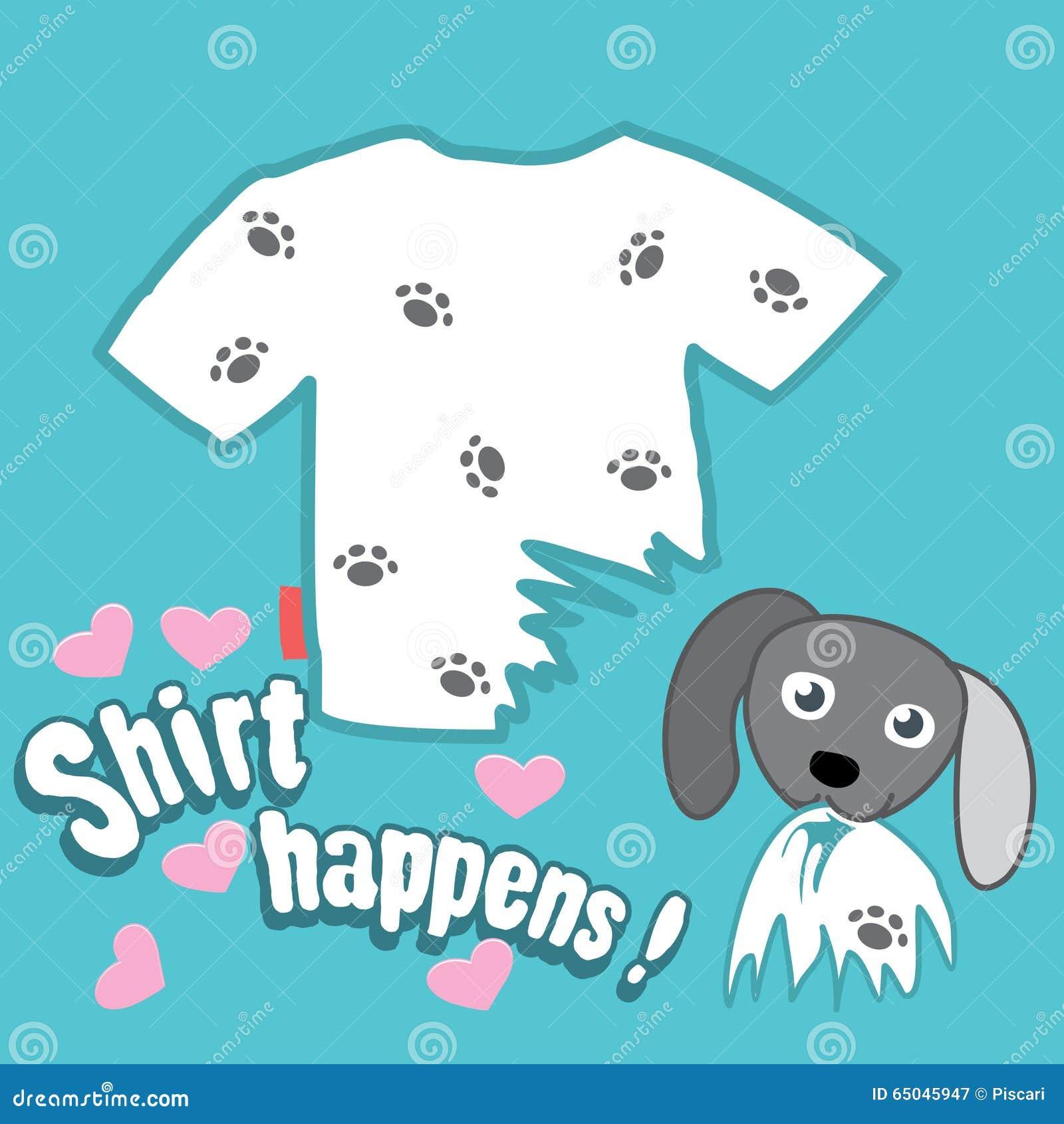 T Shirt Design Stock Vector Illustration Of Garment 65045947