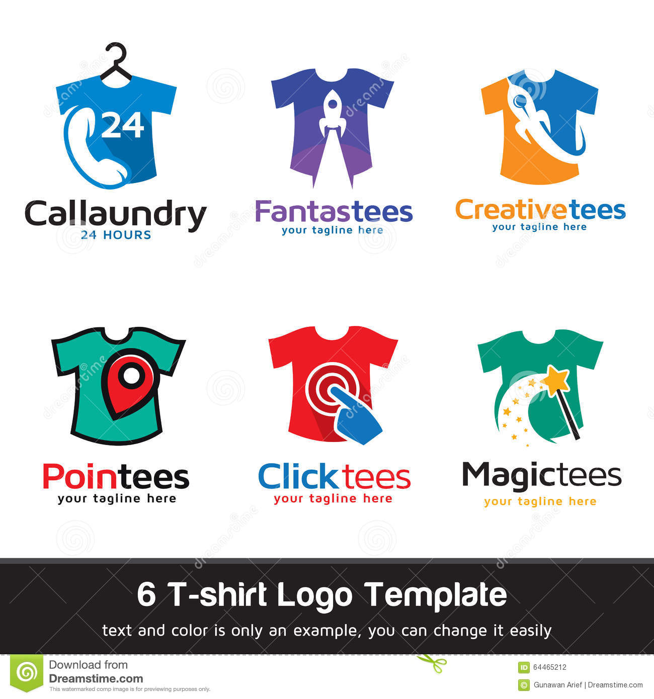 T shirt fashion logo template design vector stock vector for T shirts for business logo