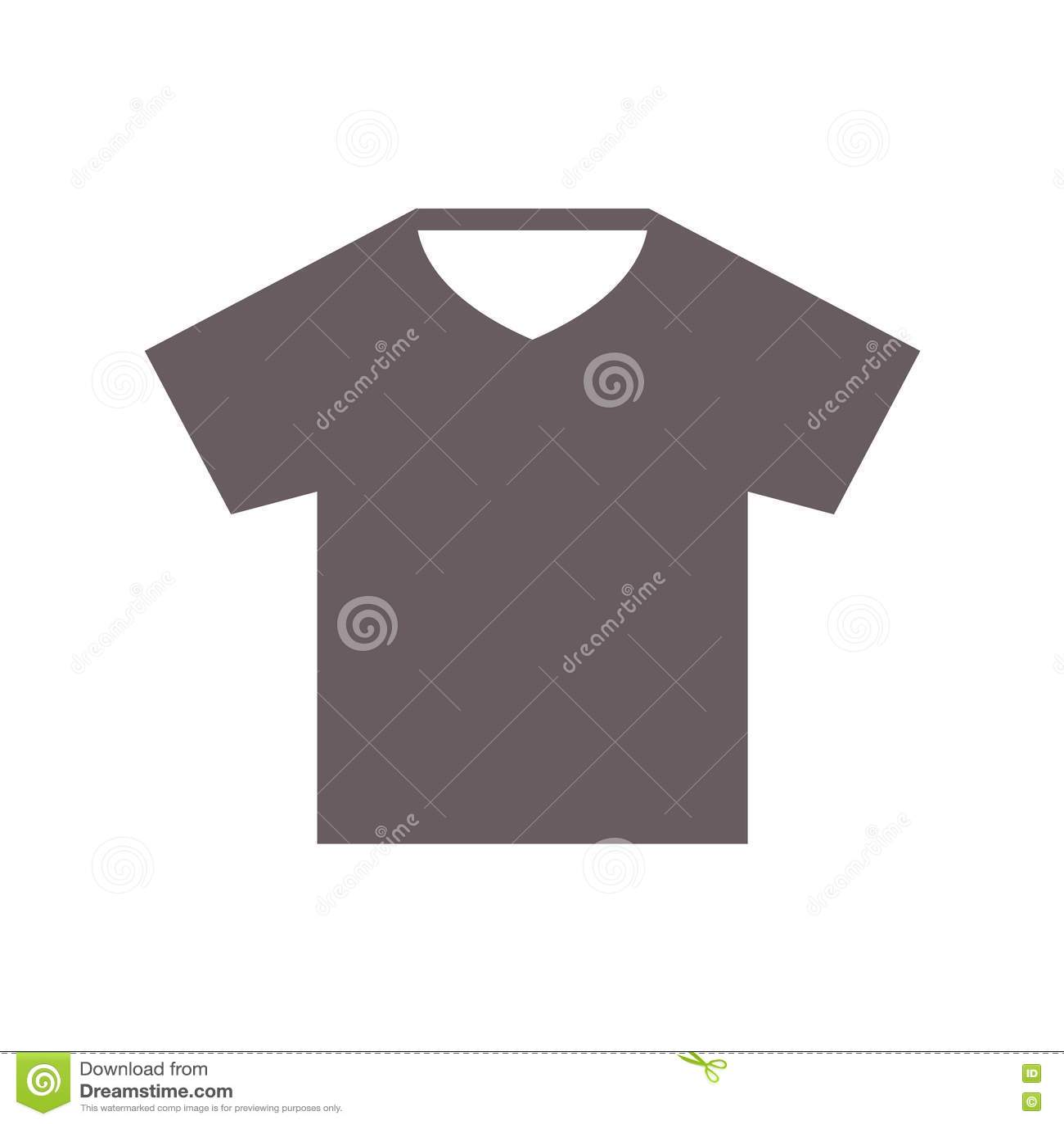 Black t shirt vector - Icon Illustration Shirt
