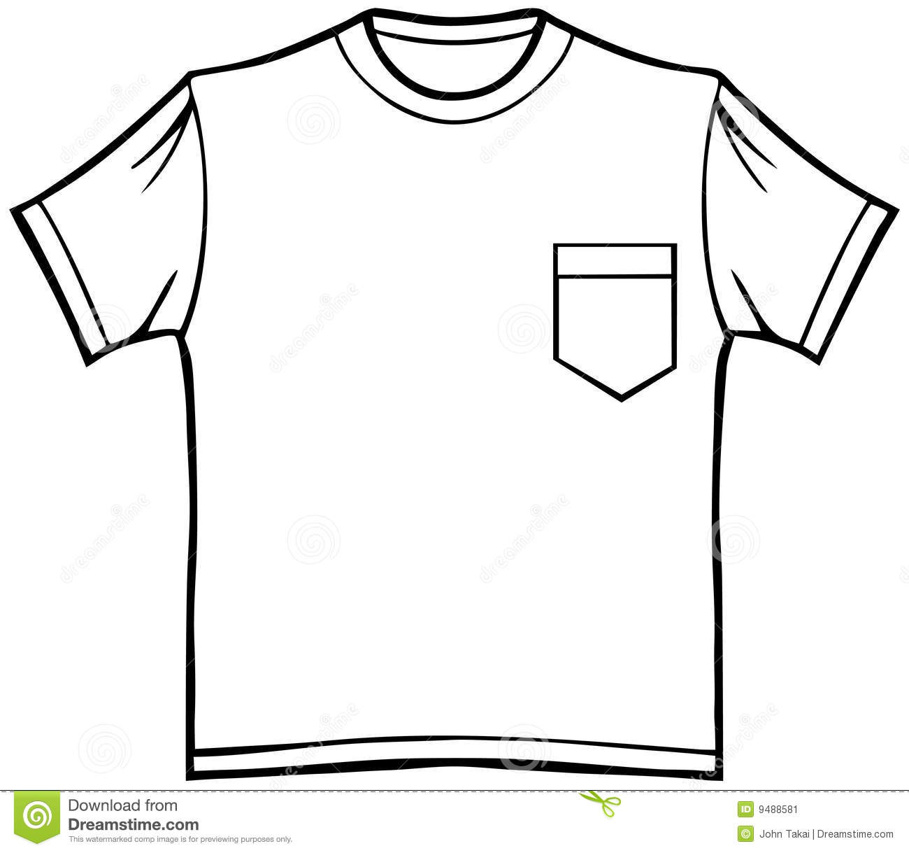 T shirt with pocket stock image image 9488581 royalty free stock photo pronofoot35fo Choice Image