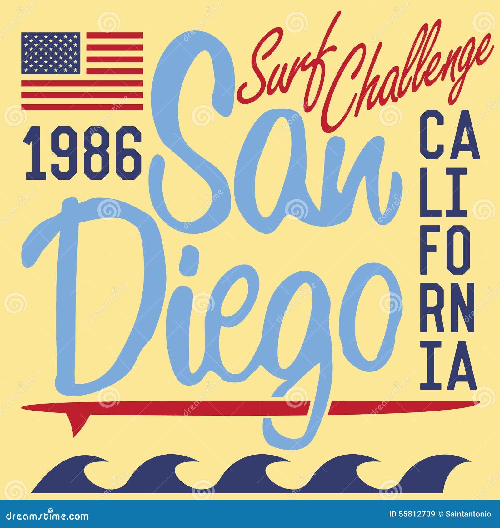 Shirt design san diego - T Shirt Printing Design Typography Graphics Summer Vector Illustration Badge Applique Label California San