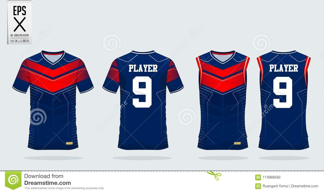 ad385a447 T-shirt Sport Design Template For Soccer Jersey