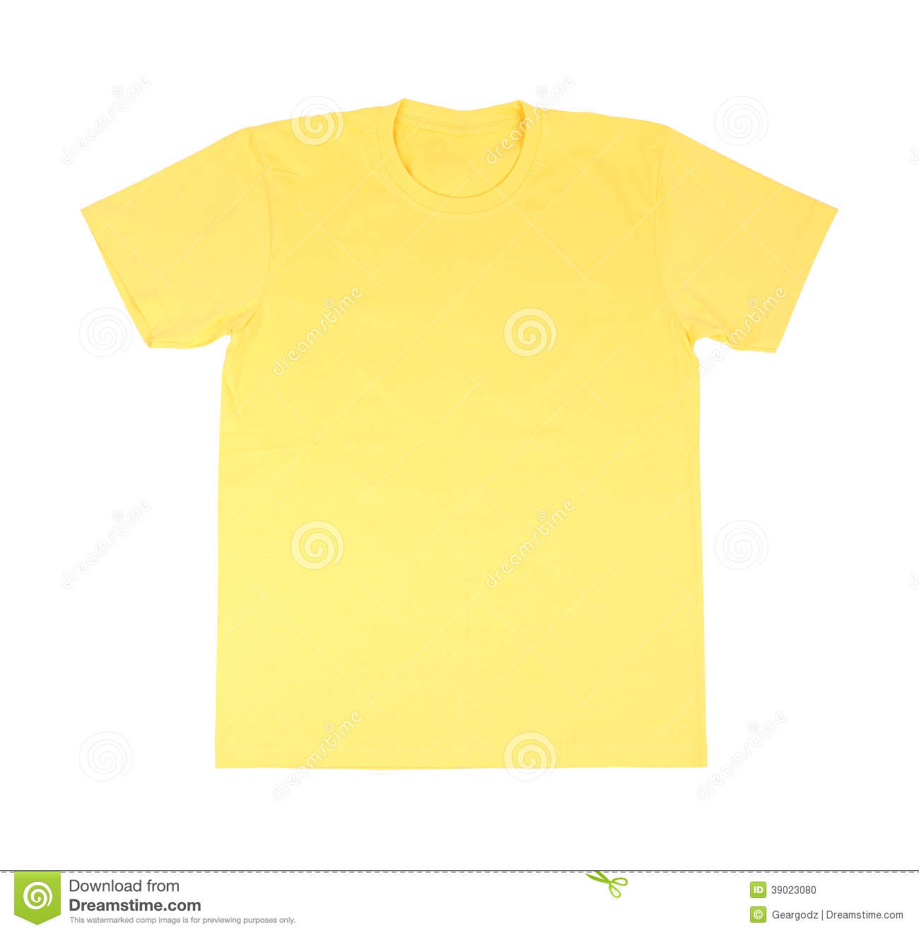 T Shirt Template Stock Photo Image Of Male Advertising