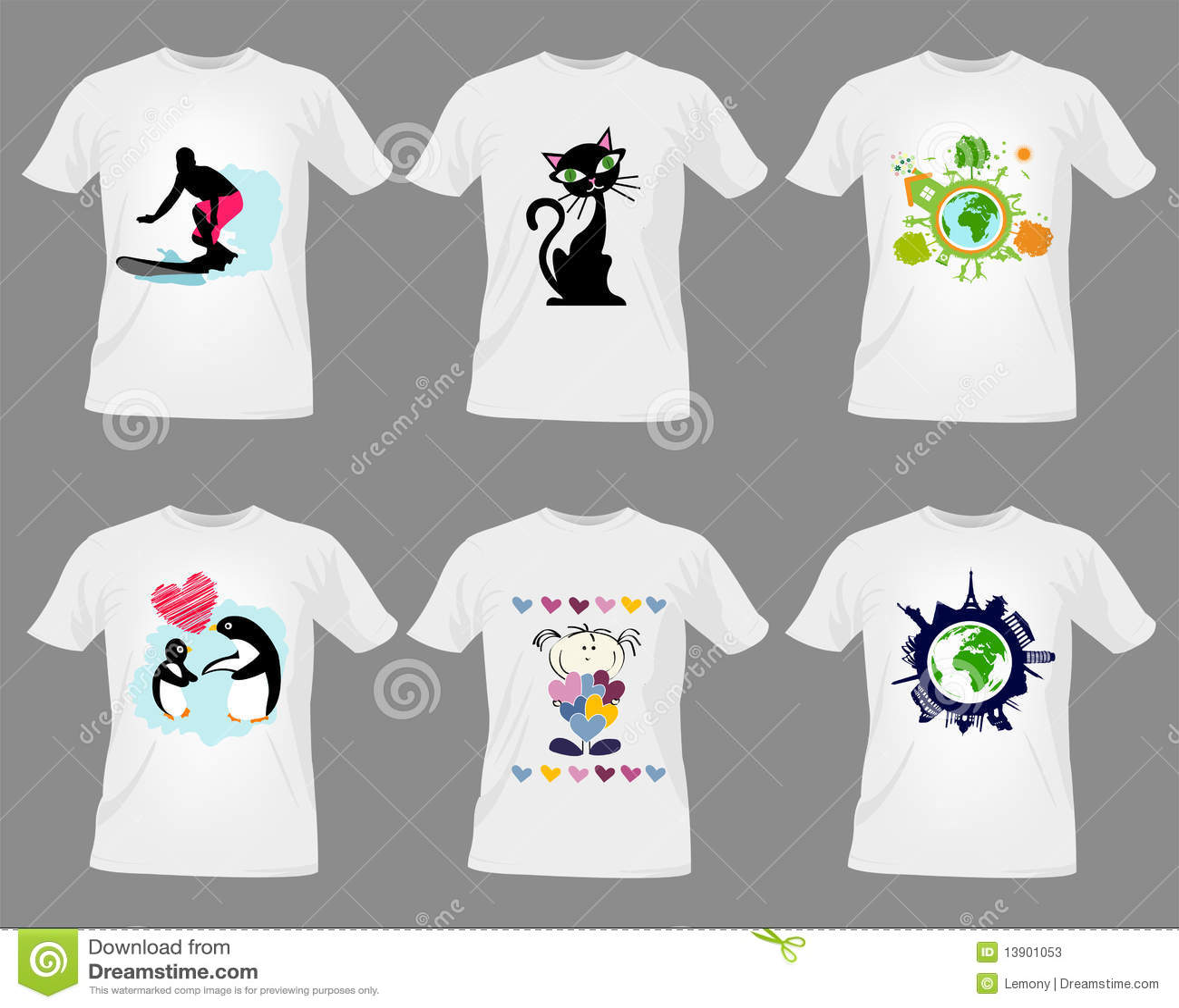Трафарет для футболки