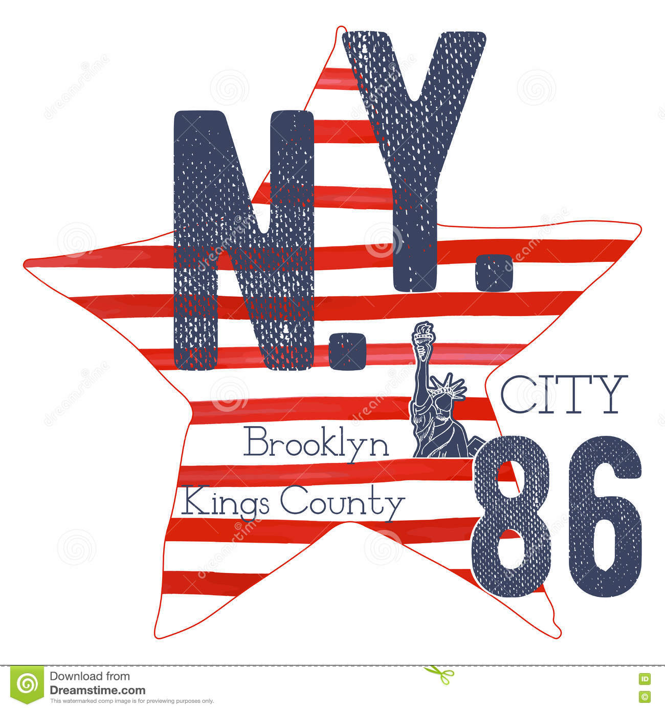 Design a t shirt nyc - Royalty Free Vector Download T Shirt Typography Design Nyc