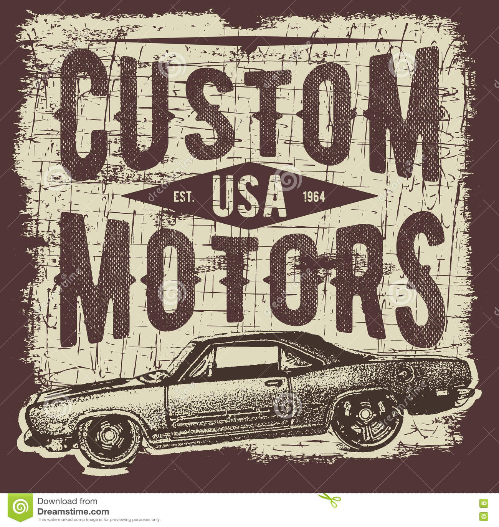 Classic Car T Shirt Designs