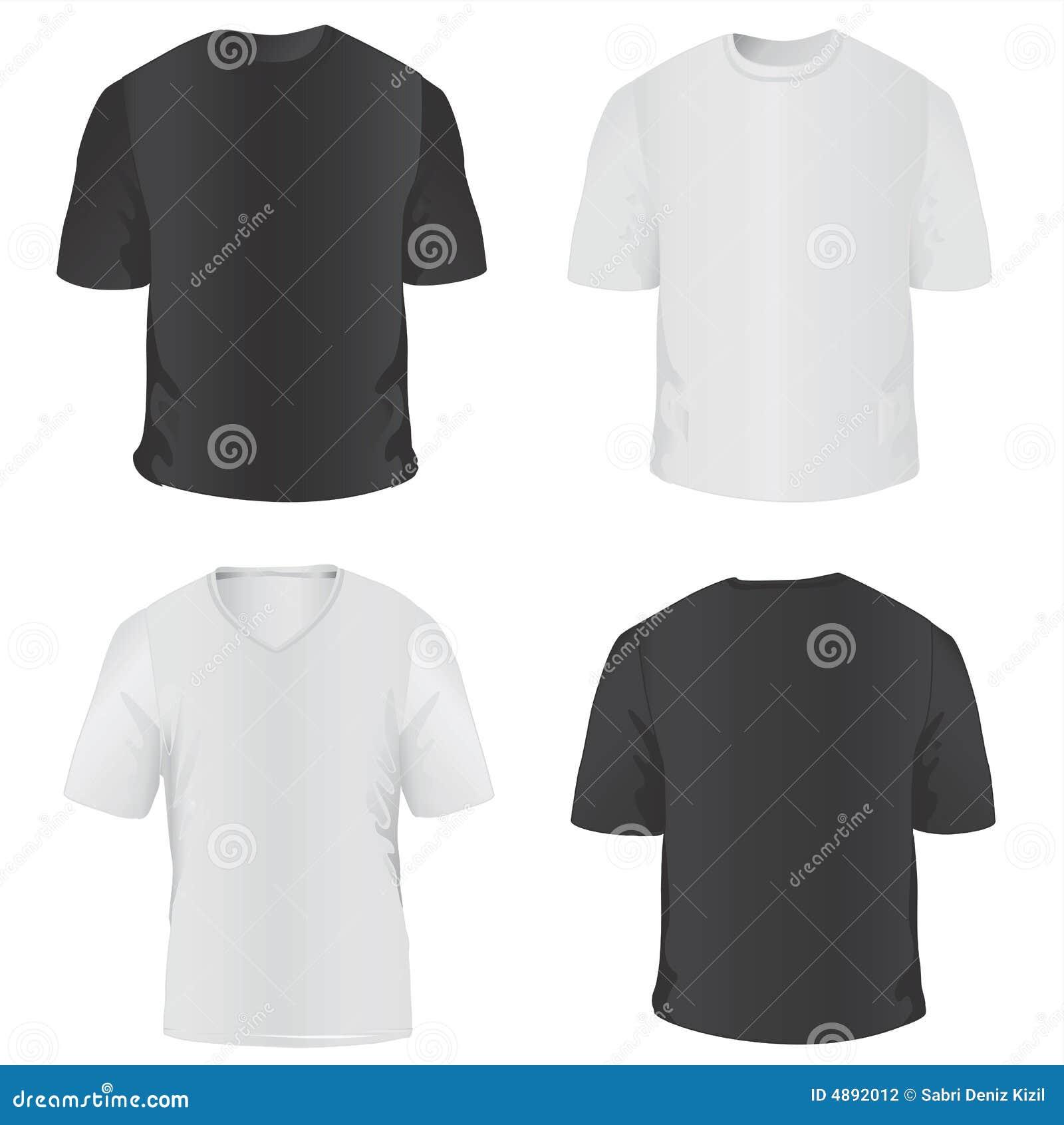 T-shirt voor mensenvector