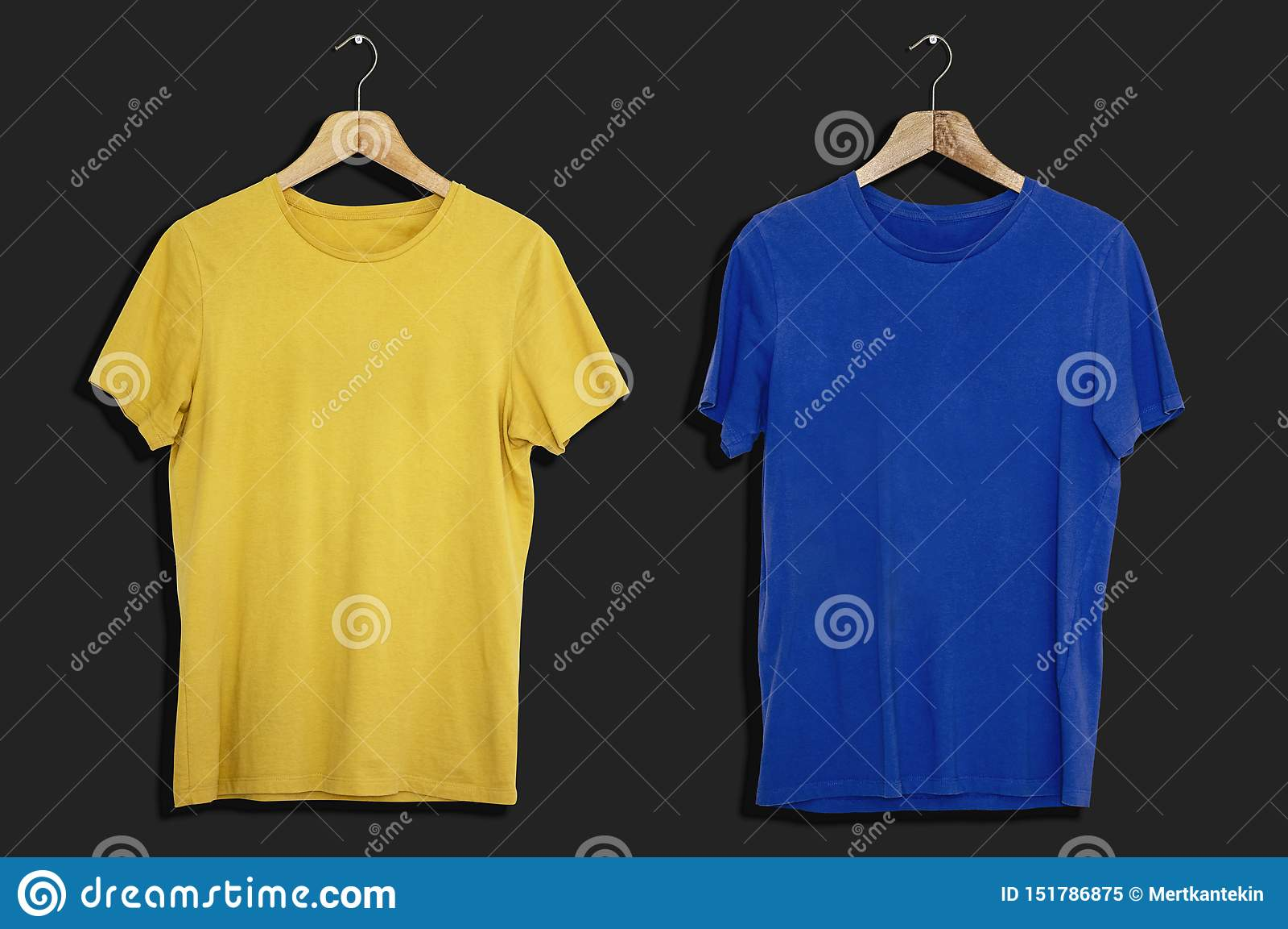 T-shirtmodel en malplaatje op geïsoleerde achtergrond voor manier en textielontwerper
