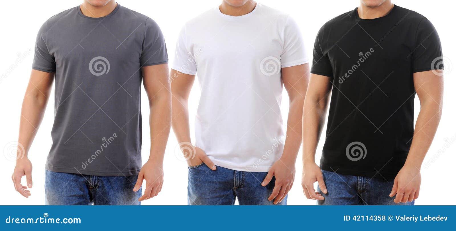 T-tröja på en ung man