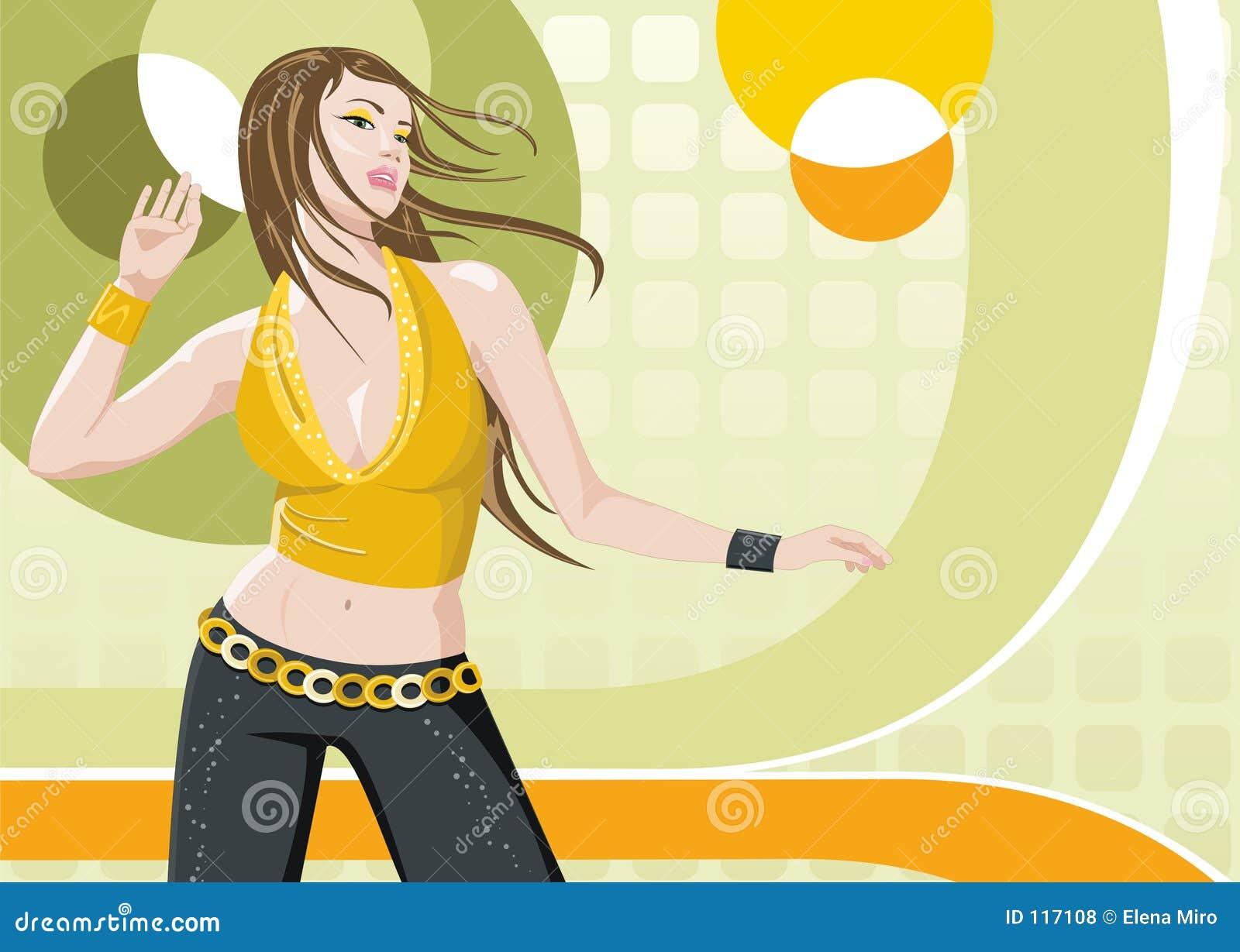 Tańcząca dziewczyna