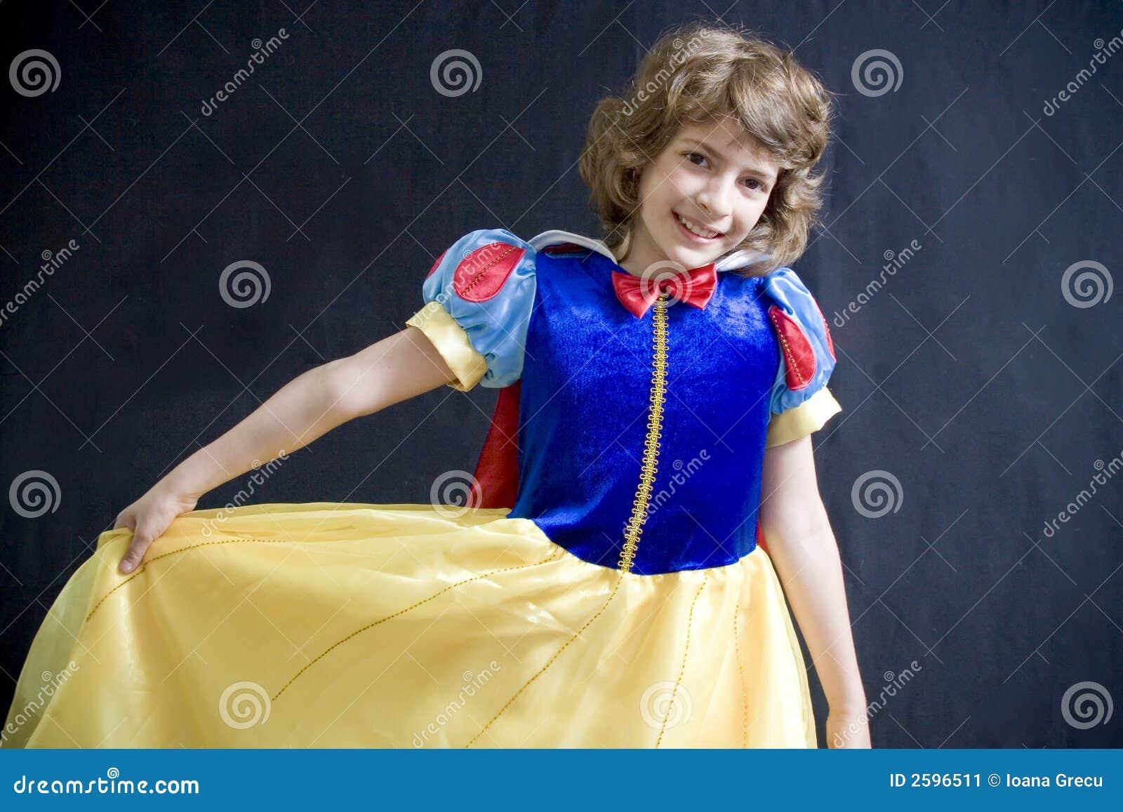 Tańcząca dziewczyna trochę