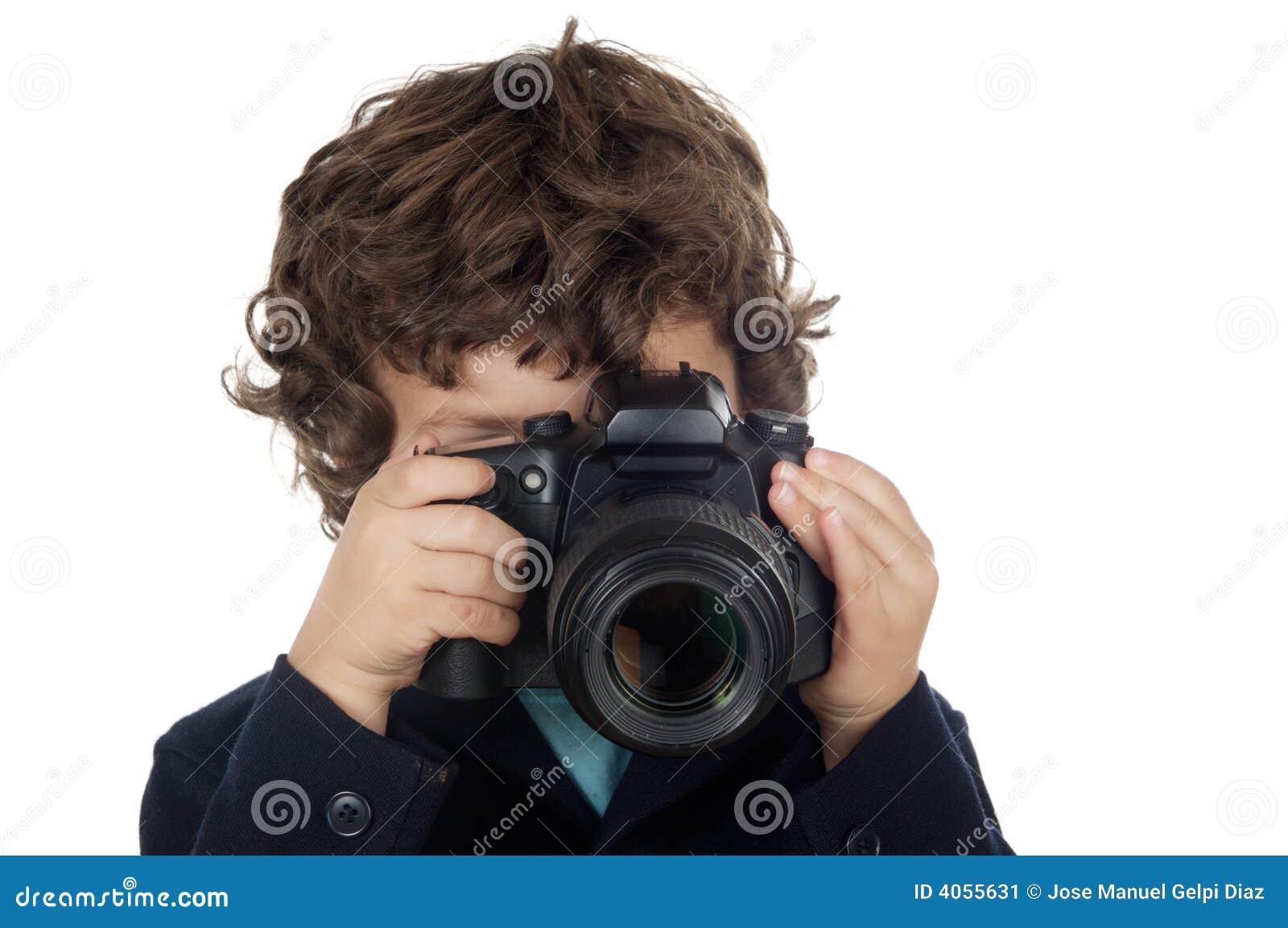 Ta för pojkefoto