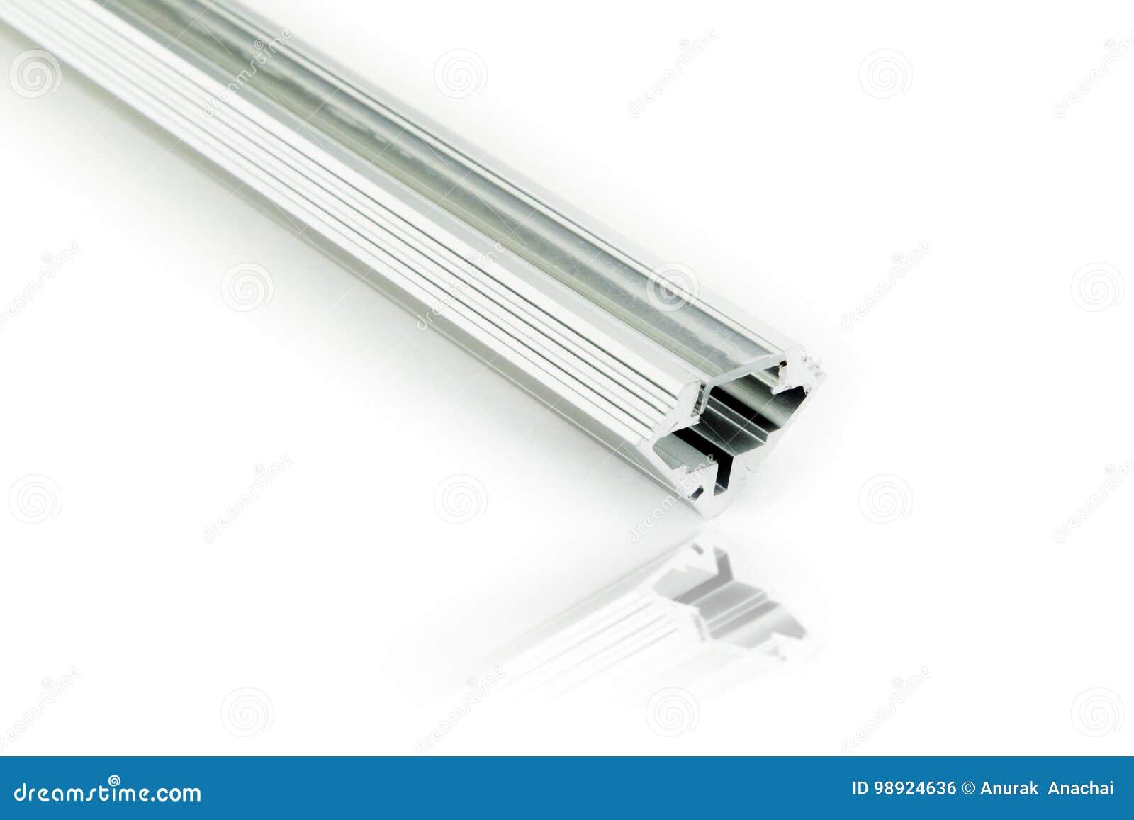 Tab Light Aluminium Profiles Stock Photo - Image of decoration