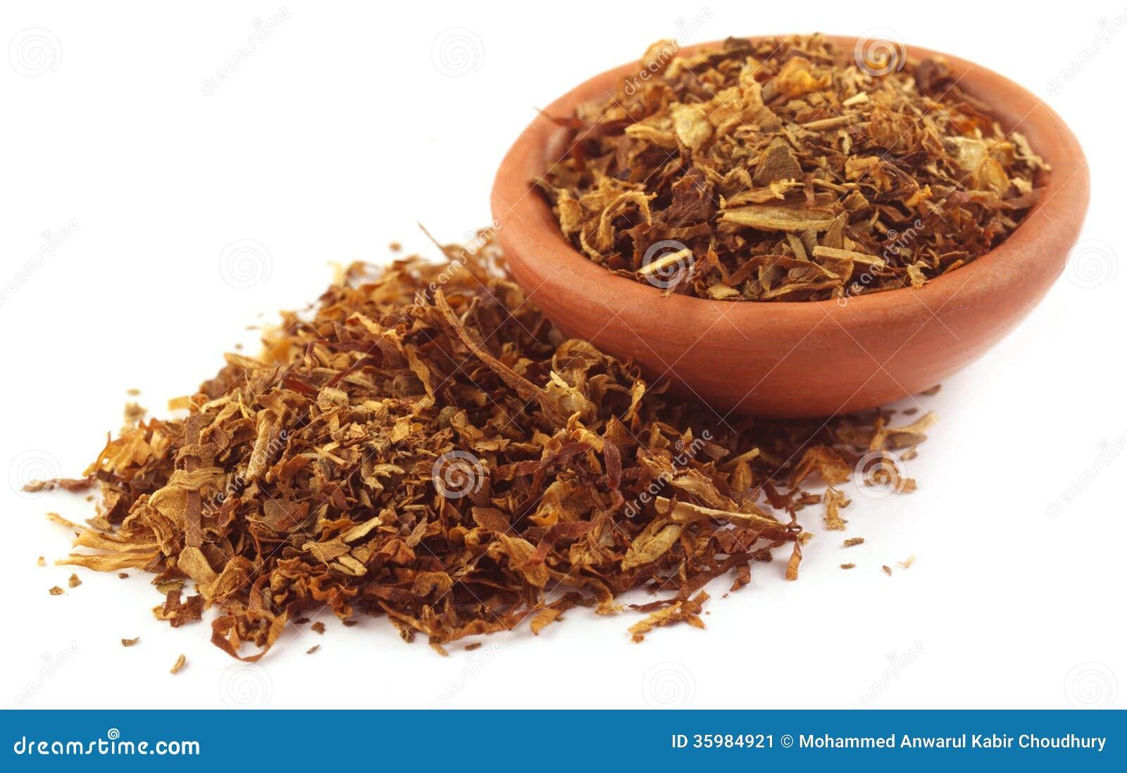 Tabac pour faire la cigarette