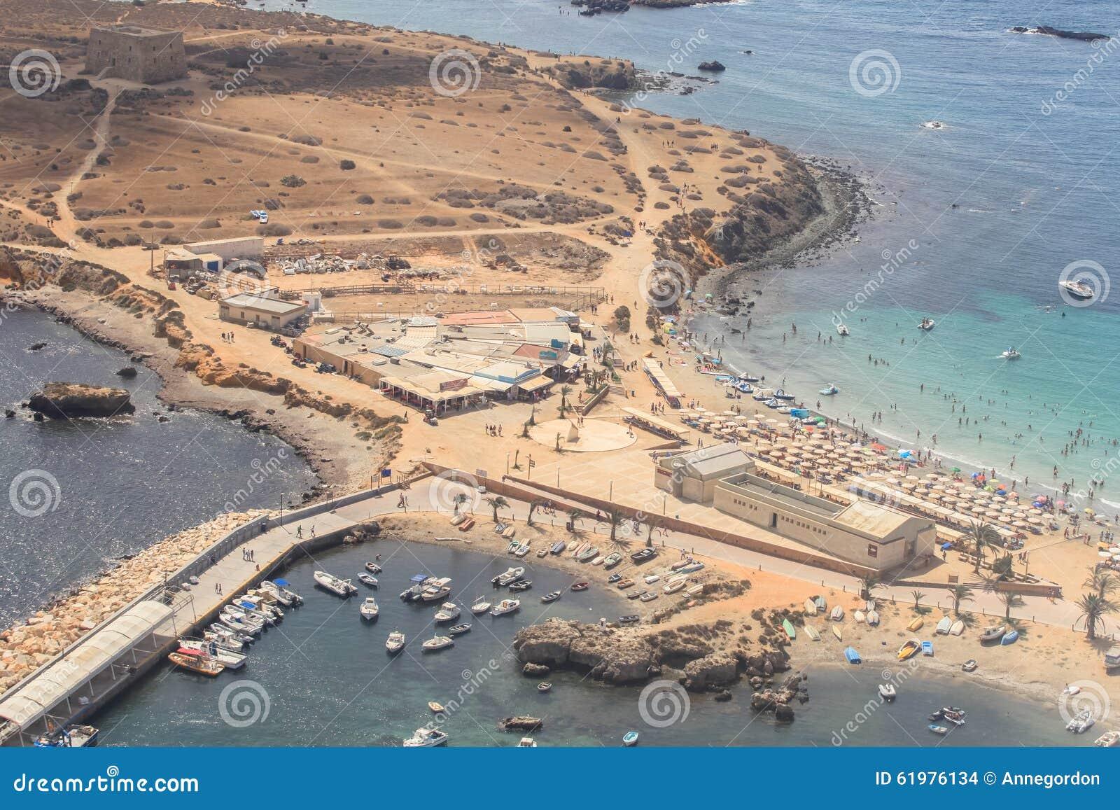 Tabarca island in alicante spain stock photo image of pattern clean 61976134 - Stock uno alicante ...