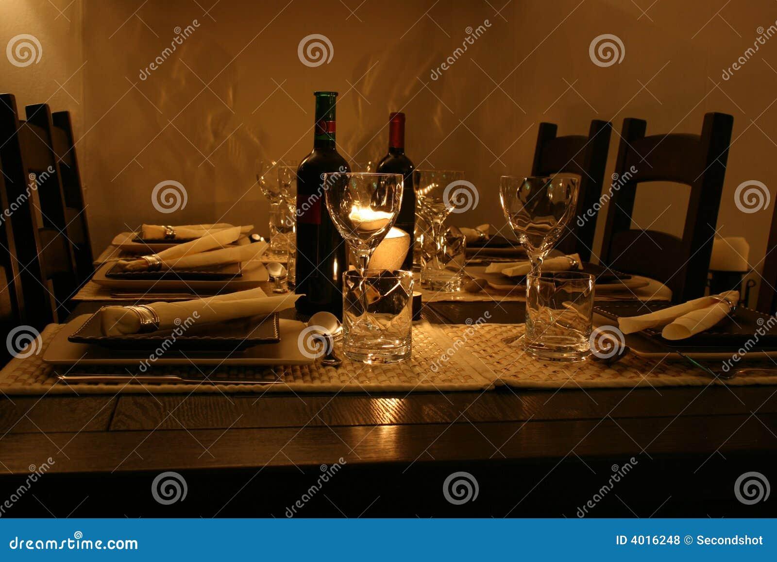 Tabela de jantar