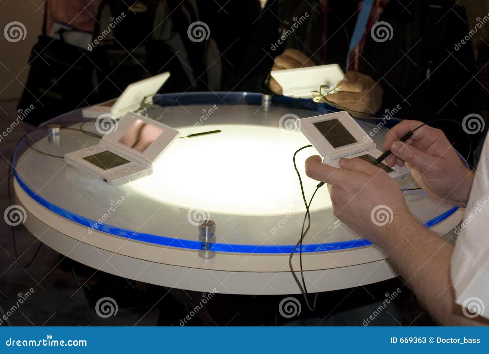 Tabela de jogo do console