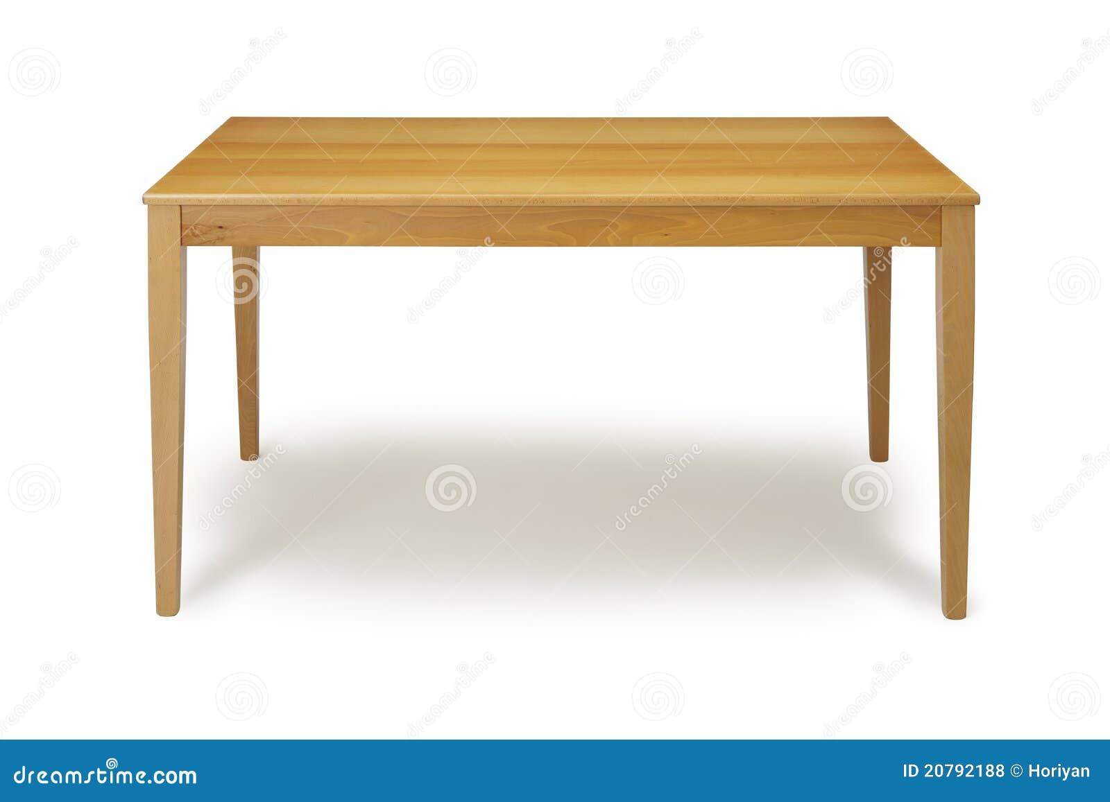Tabela de madeira