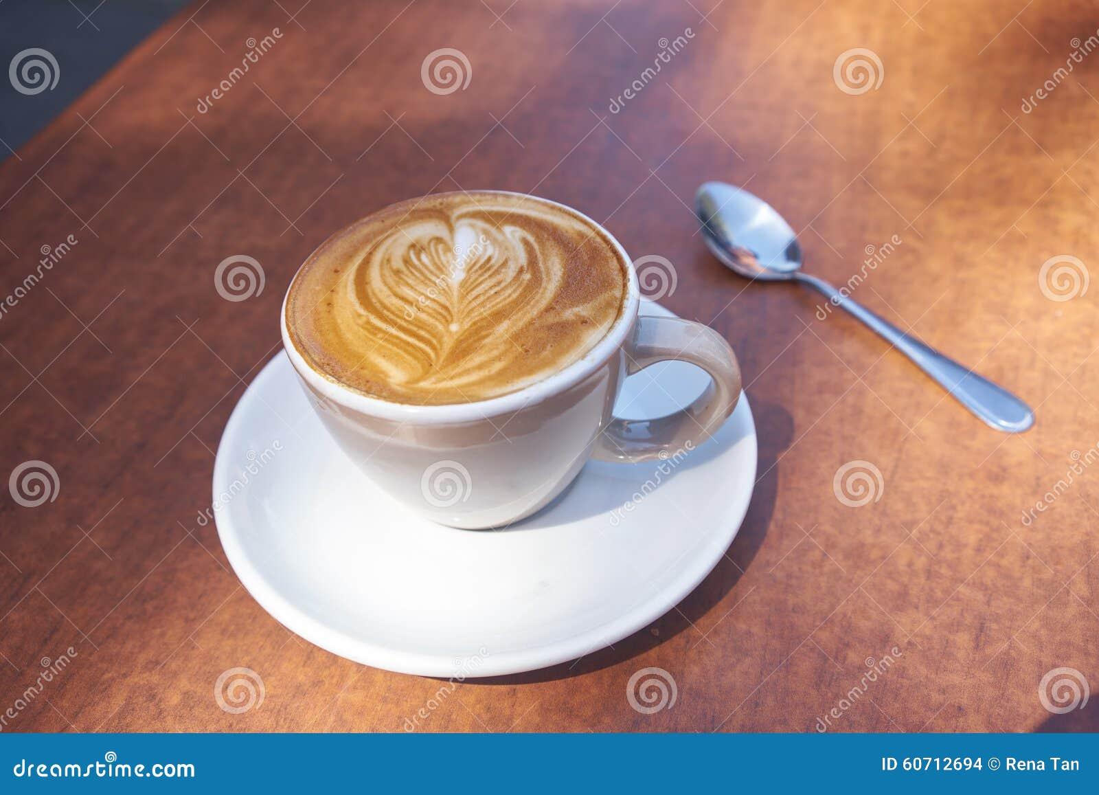 Tabela de madeira do café