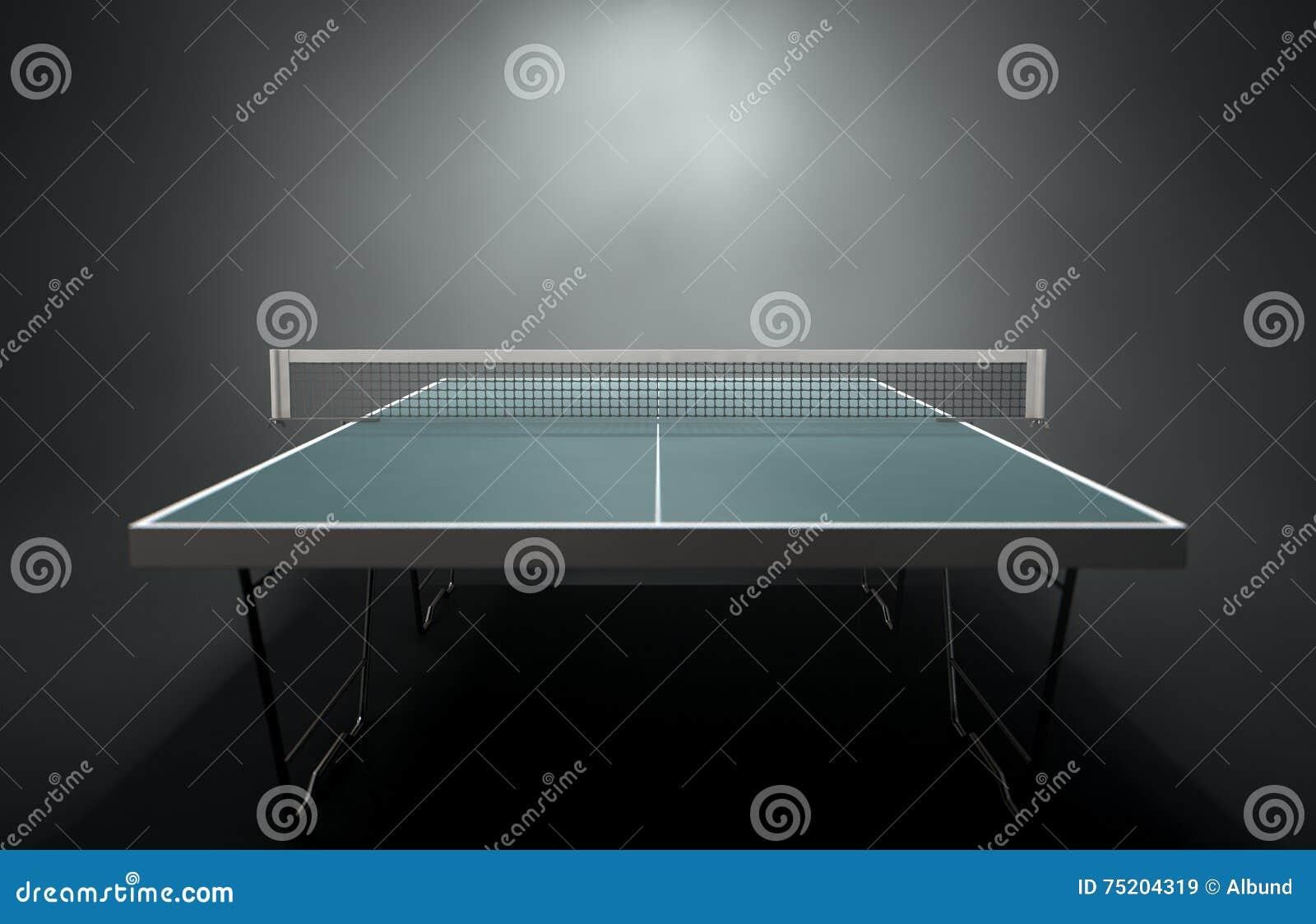 Tabela do tênis de mesa
