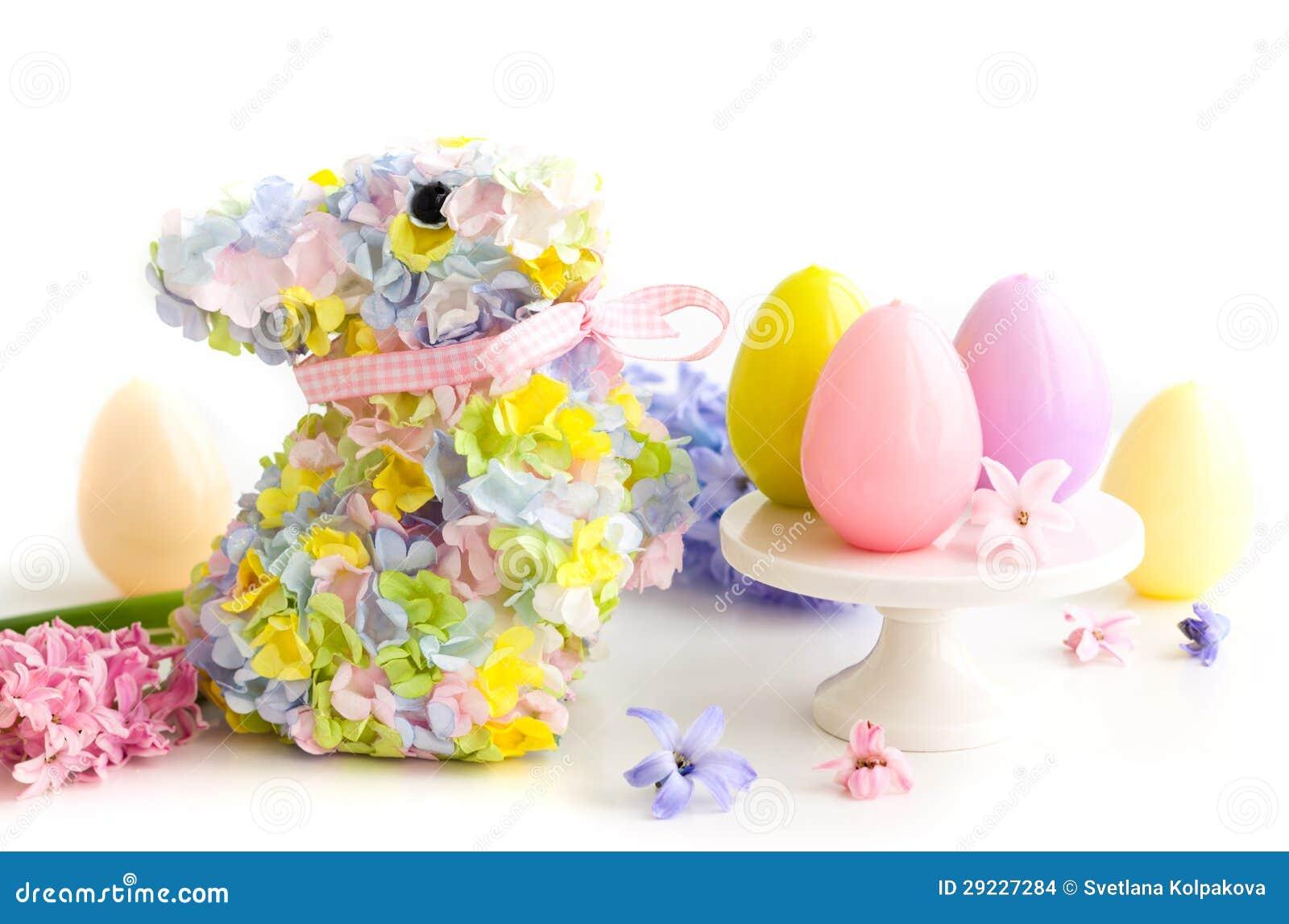 Download Tabela festiva de Easter foto de stock. Imagem de bonito - 29227284